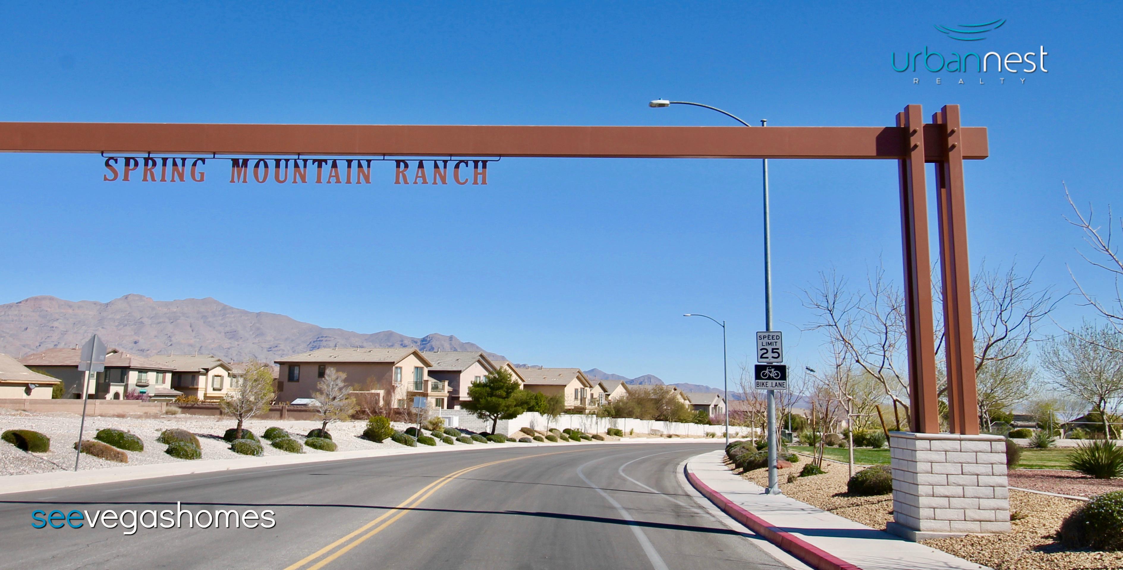 Spring Mountain Ranch Las Vegas NV 89143 SeeVegasHomes