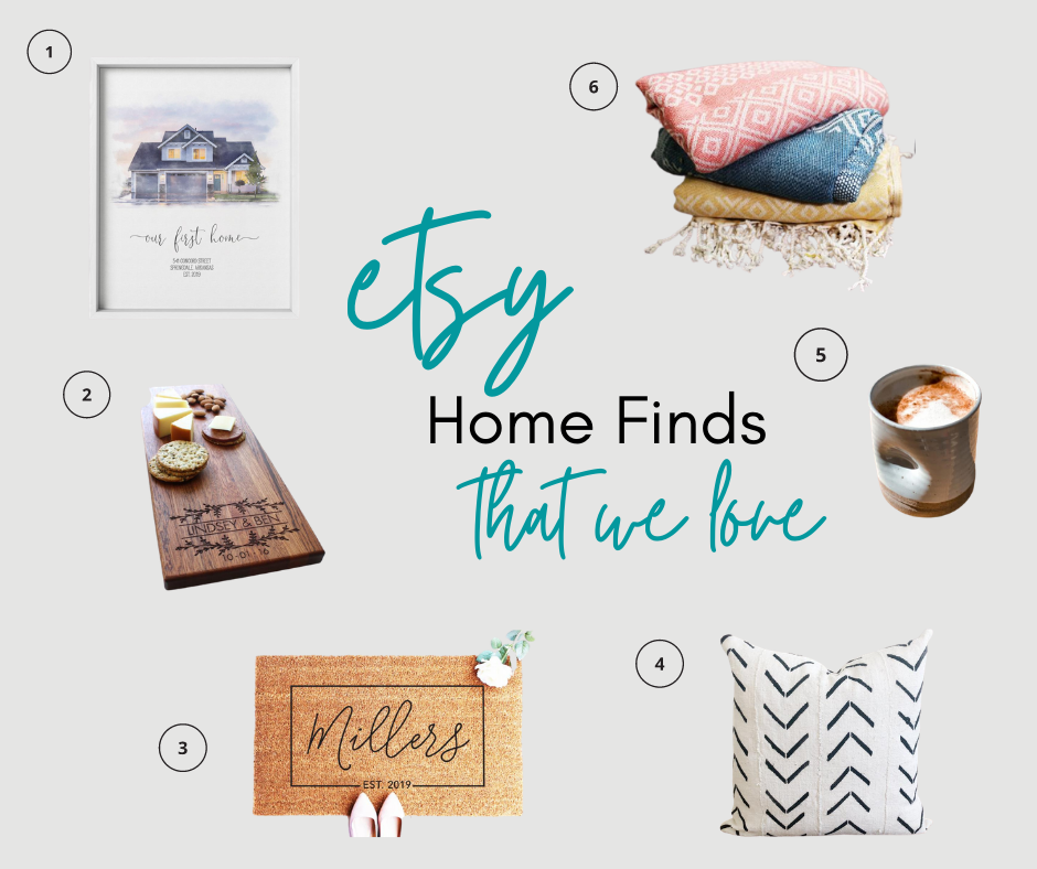 Etsy Home Finds We Love