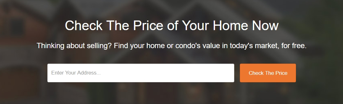 Check the Price of Your Home or Condo  Now