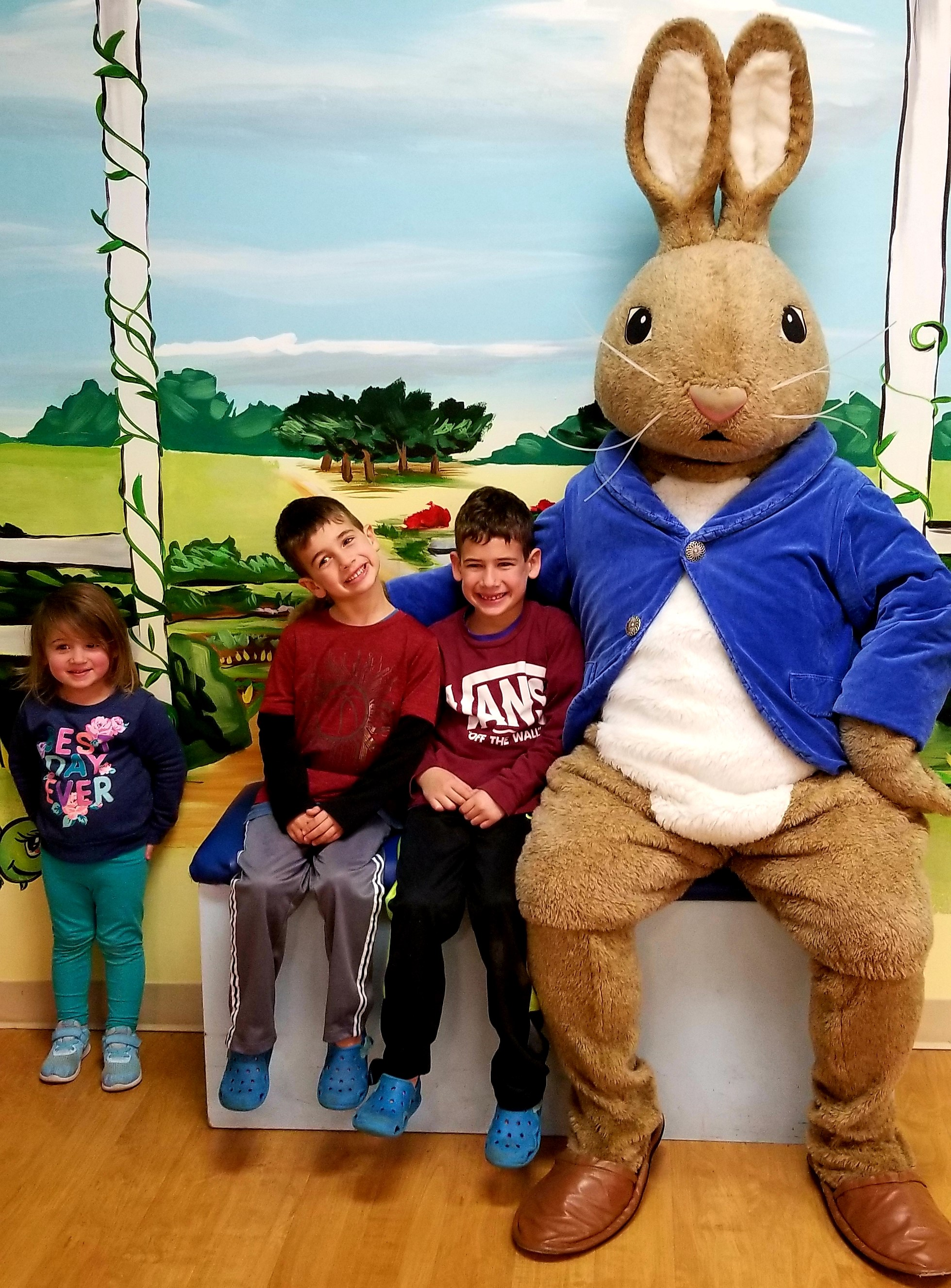 Peter Rabbit and Children
