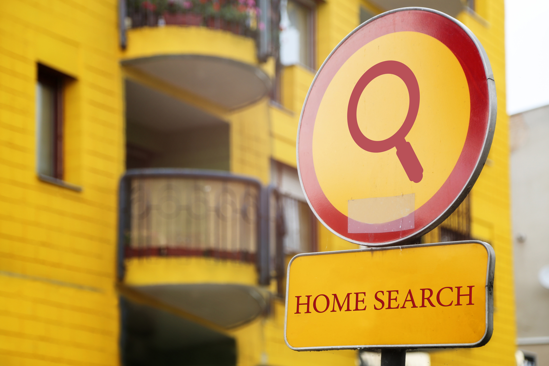 Home Search Icon for Blog with yellow background