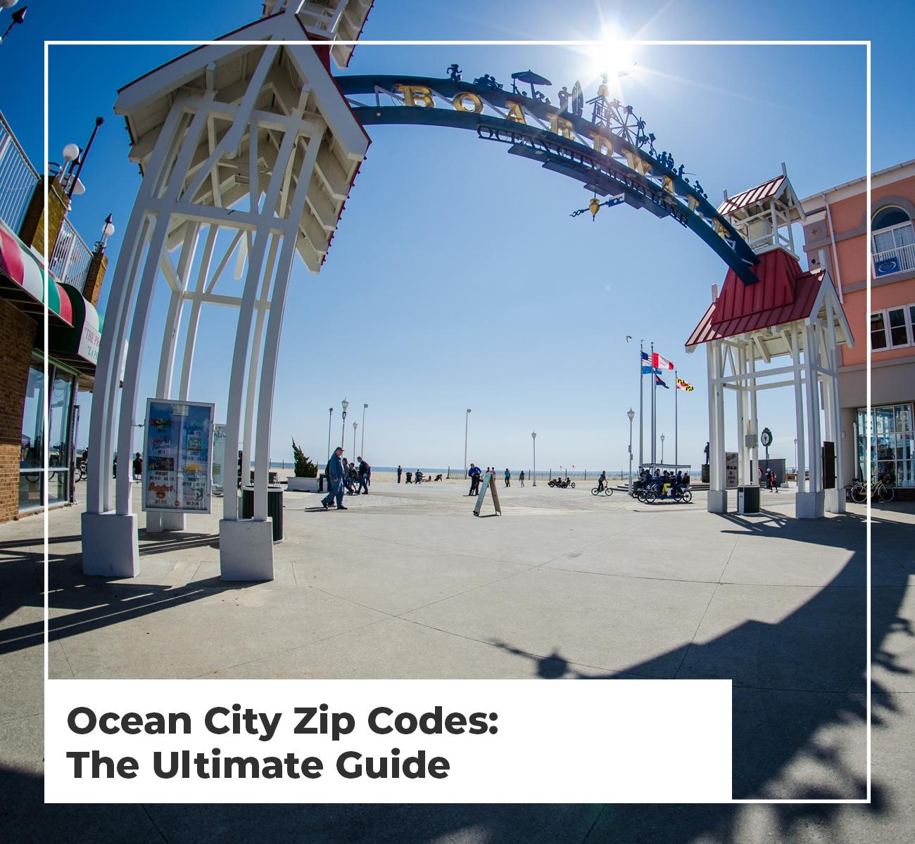 Ocean City Zip Codes Guide