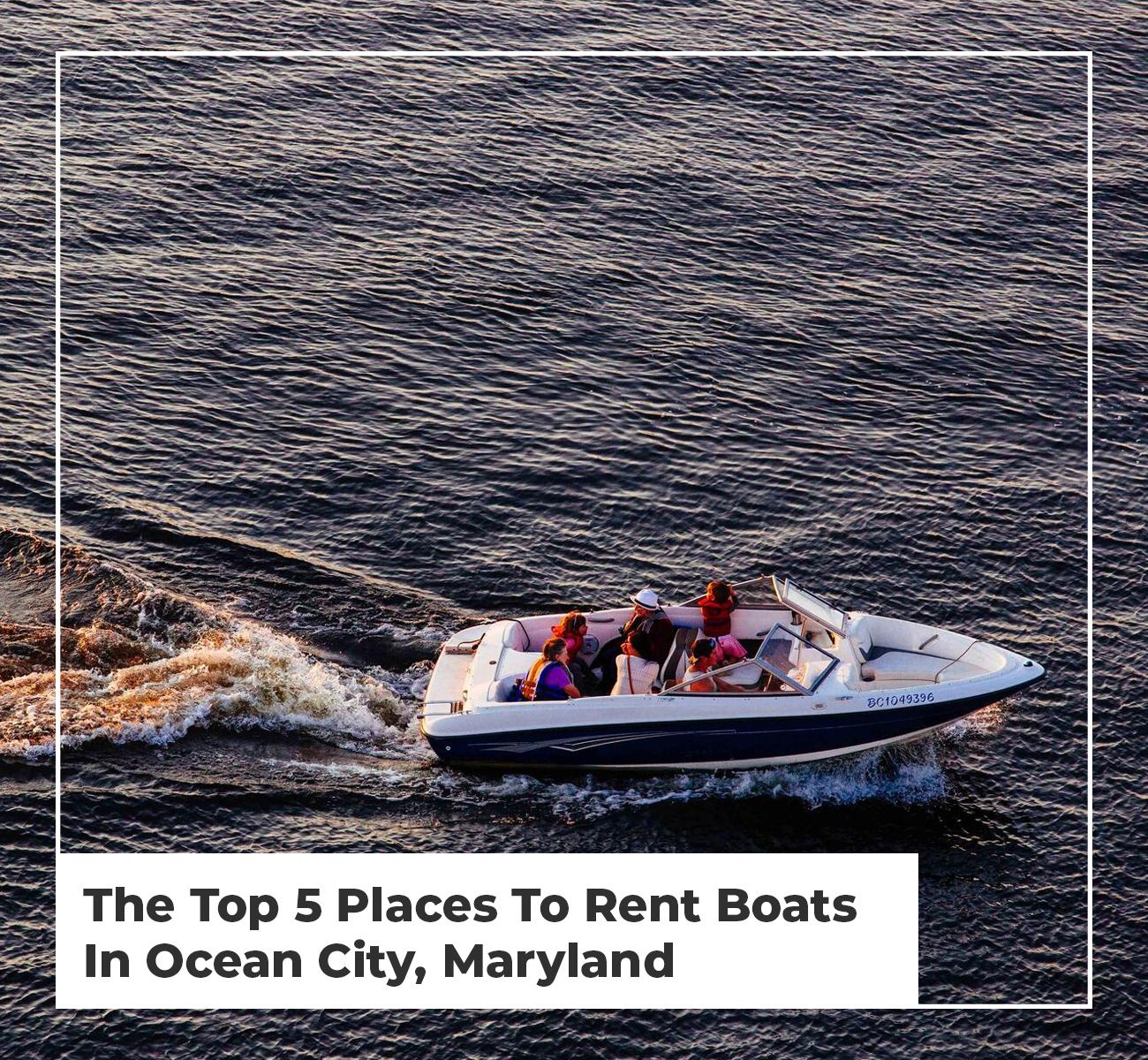 Boat Rental Maryland