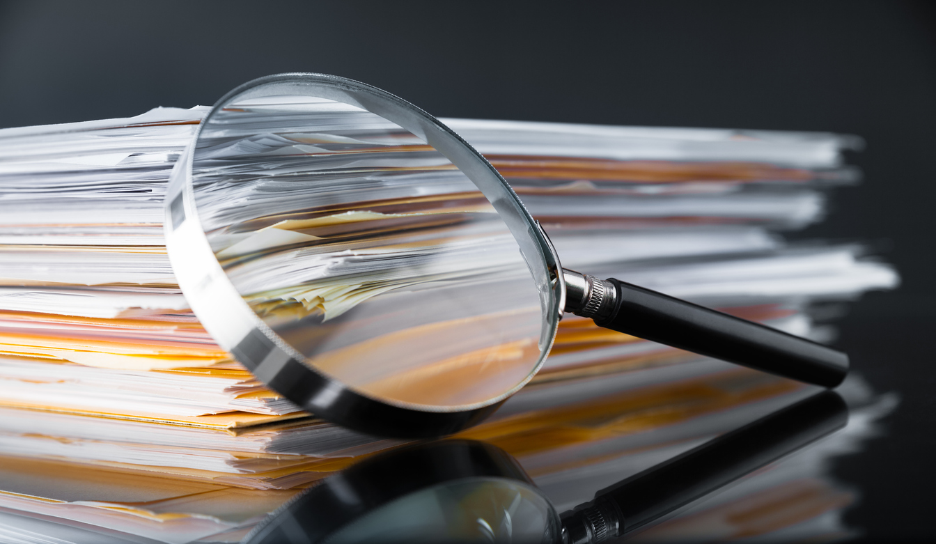 Magnify Glass on Documents