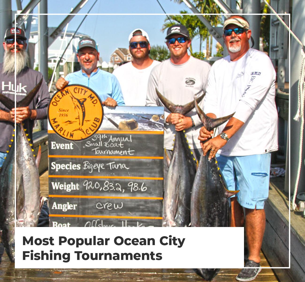 Ocean City Fishing Tournaments