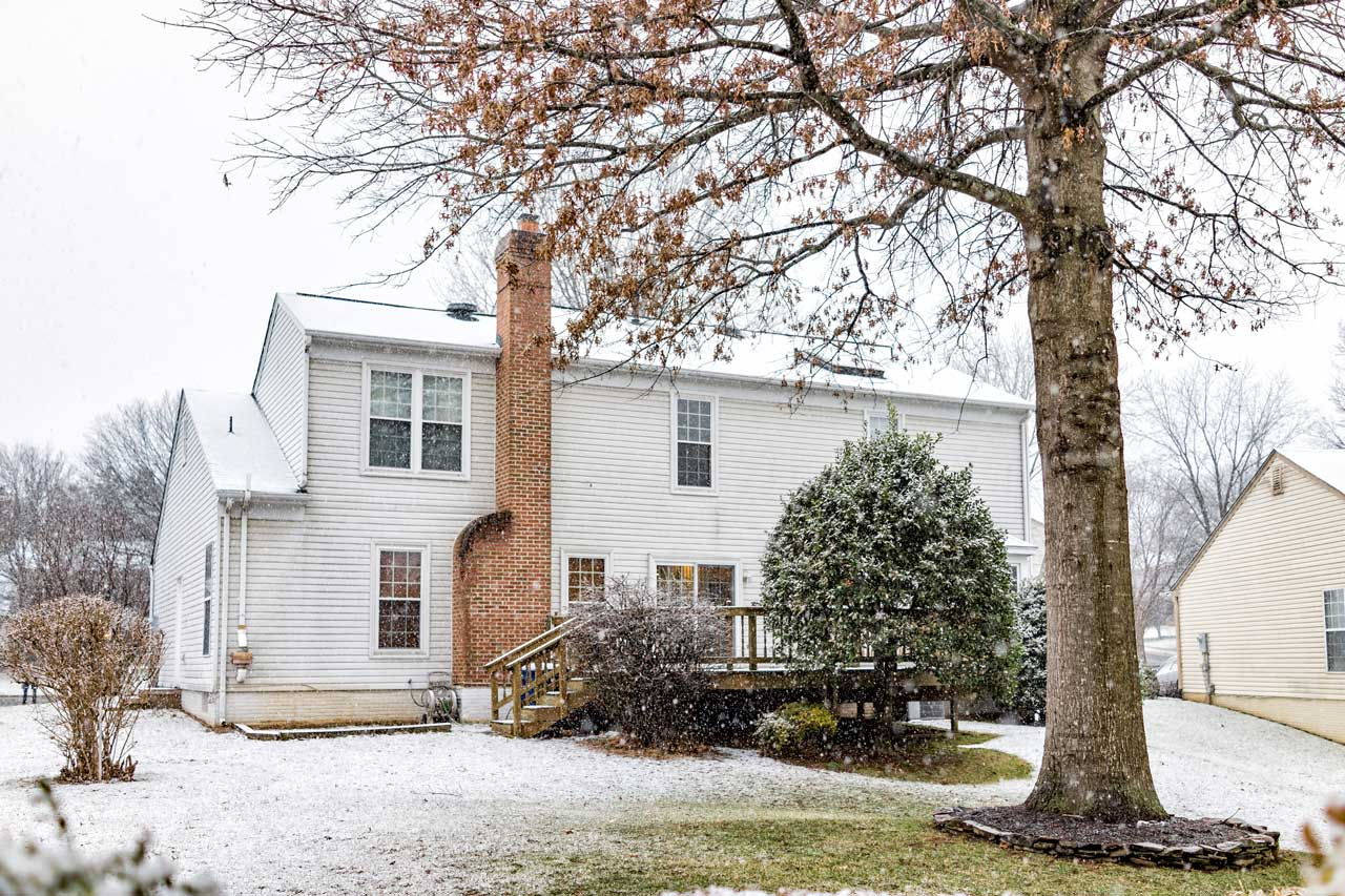 Northern Virginia Home for Sale in Winter