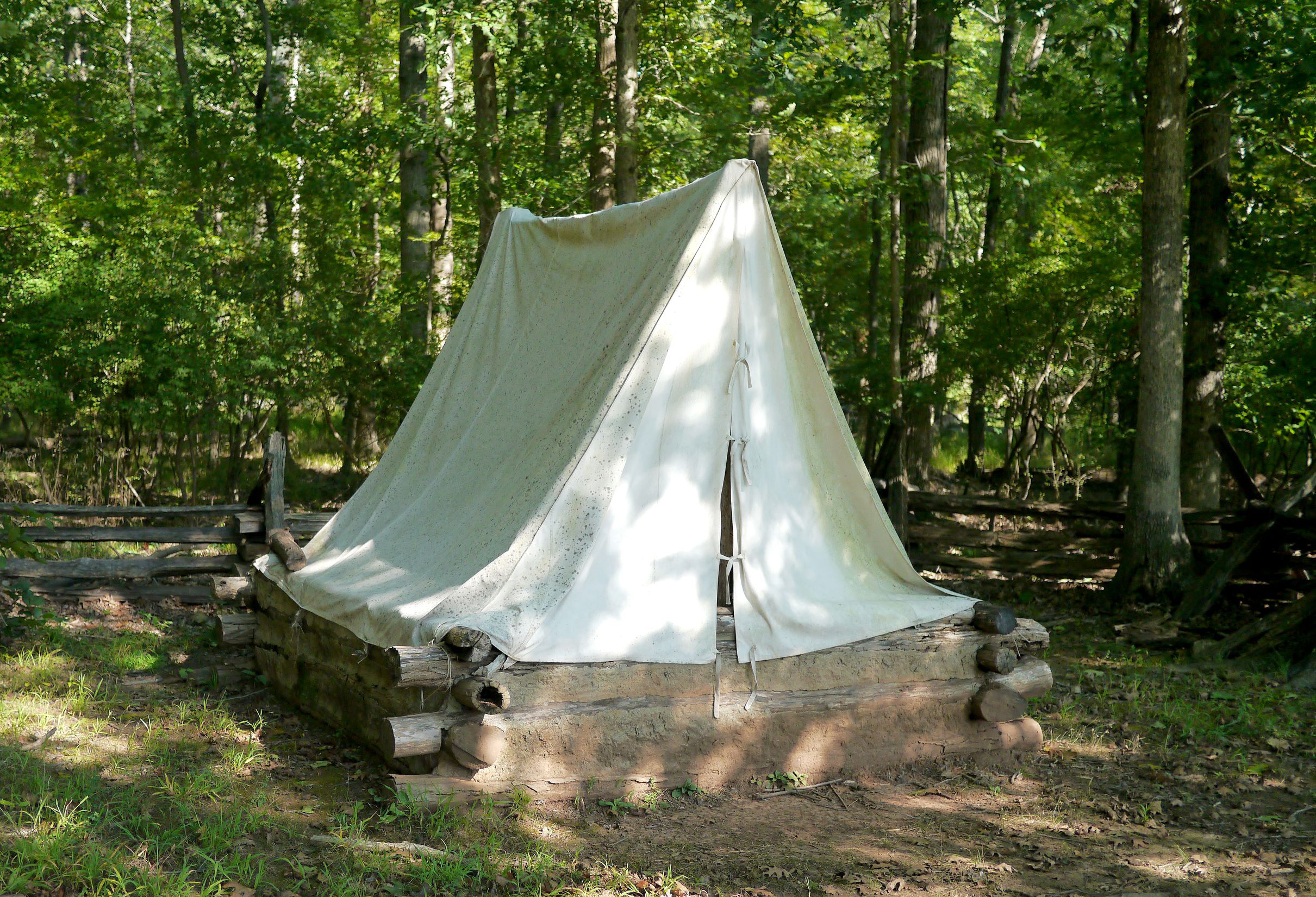 Union Civil War Field Shelter
