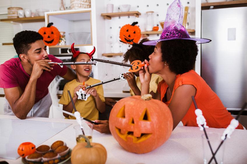 Family Halloween Fun