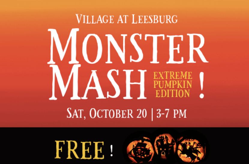 Village At Leesburg Monster Mash_Extreme Pumpkin Addition