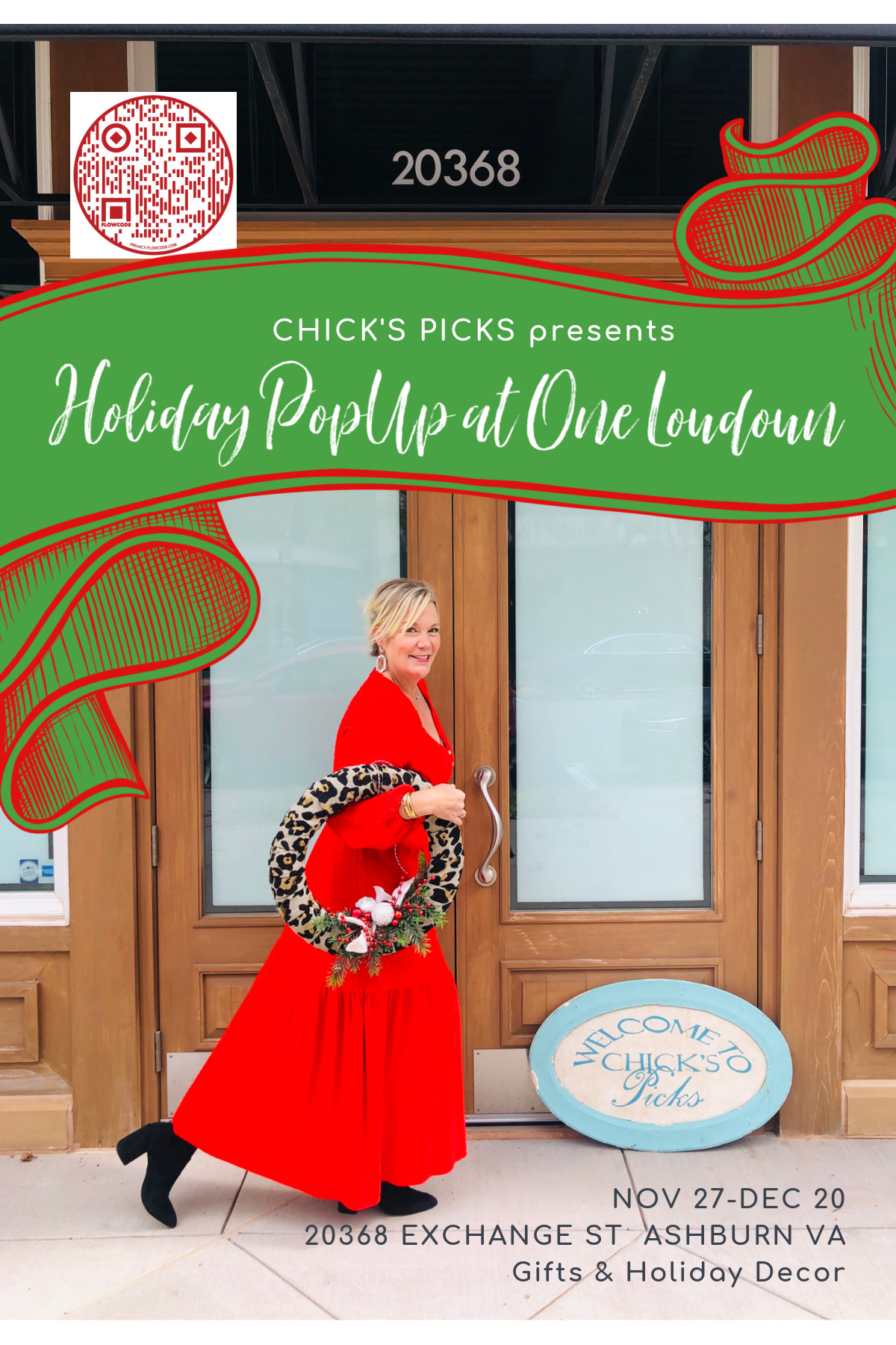 Chick's Picks Month-long Holiday Gift Pop-Up @ One Loudoun in Ashburn, VA