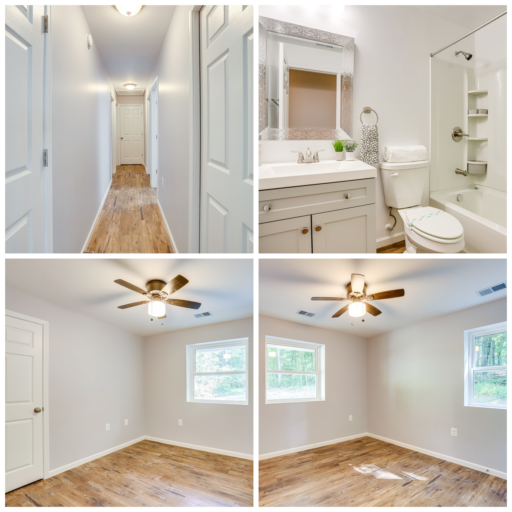 584 Aaron Mountain Rd, Castleton- Hall Bathroom and Additional Bedrooms