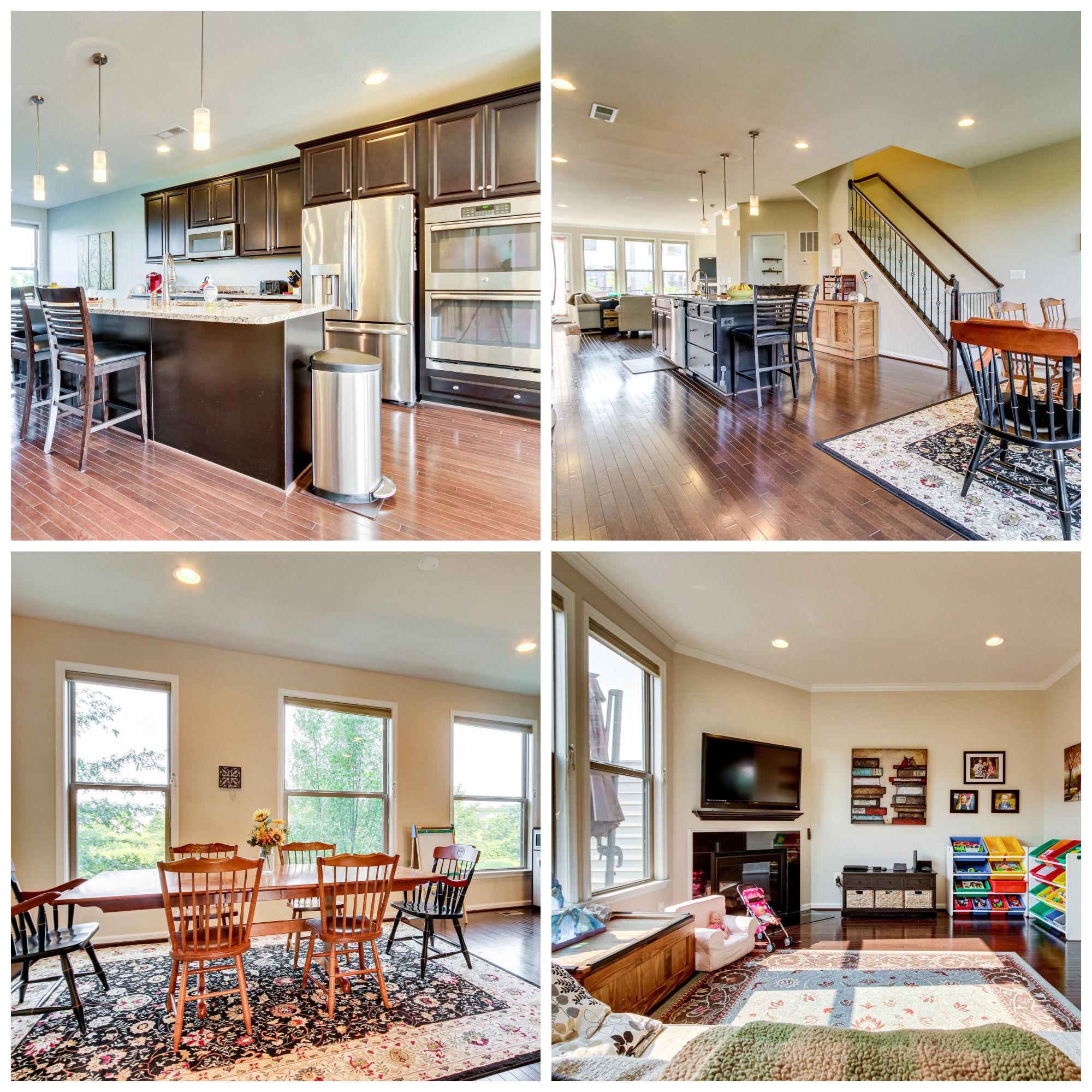 23504 Ashwood Moss Ter, Brambleton- Kitchen, Dining, and Family Room