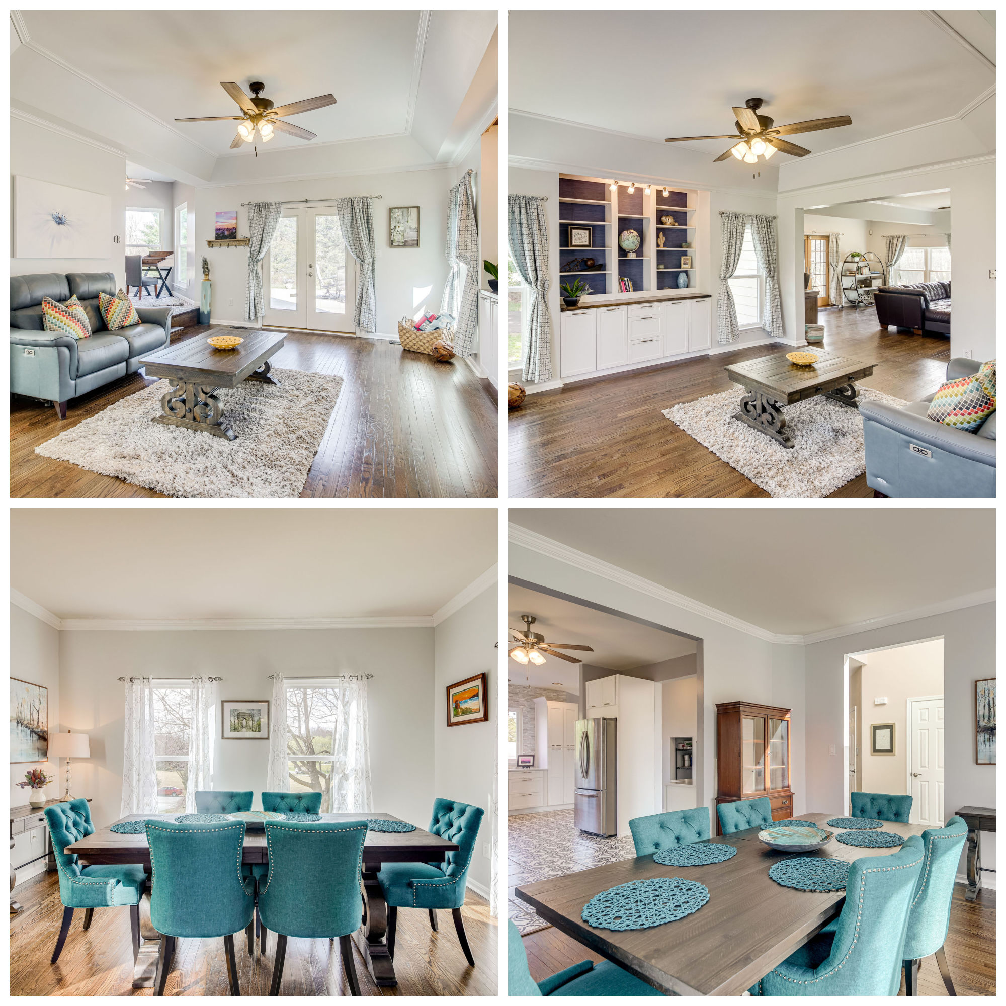 4241 Berry Rd, Gainesville- Living and Dining Rooms