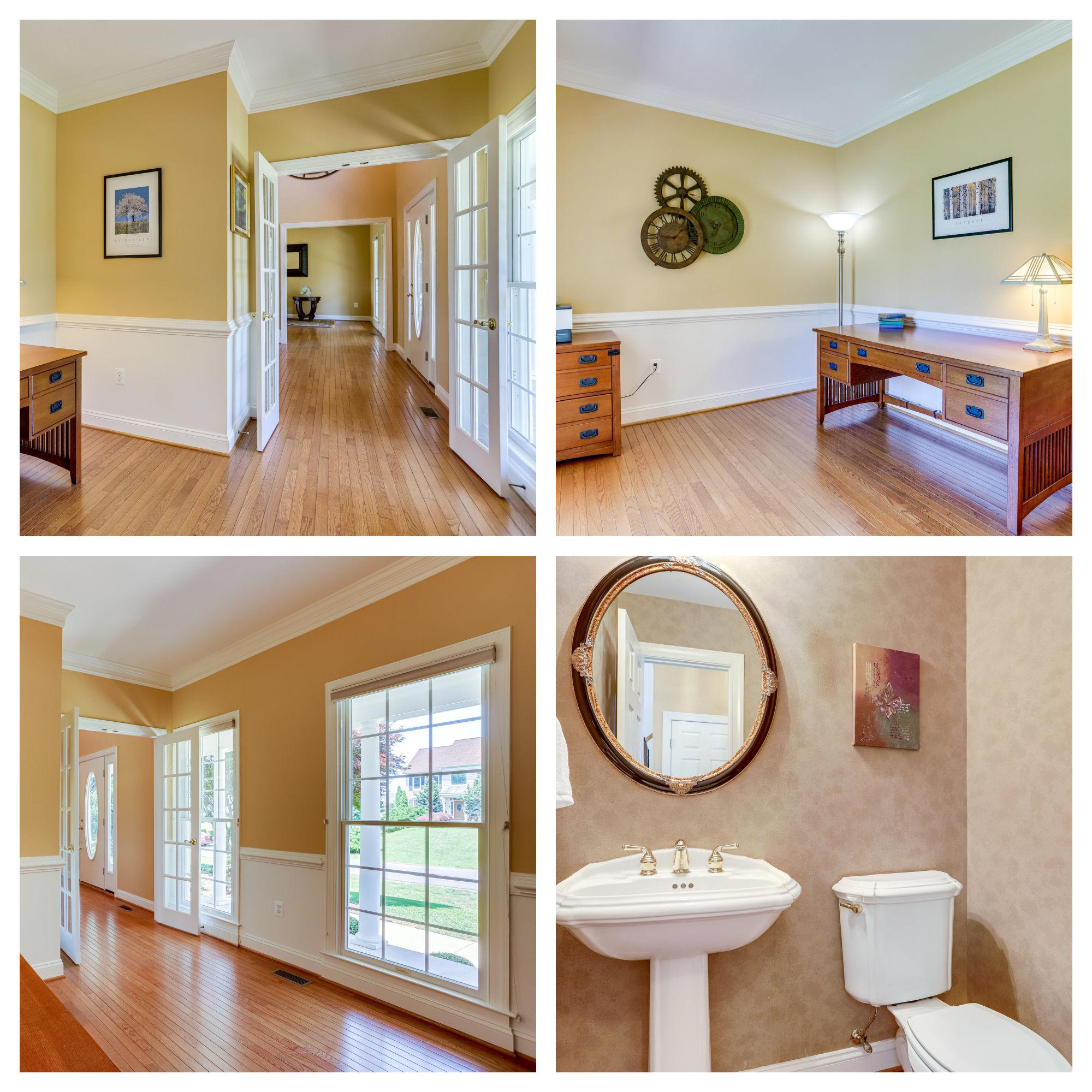 42259 Big Springs Ct, Leesburg- Office and Powder Room