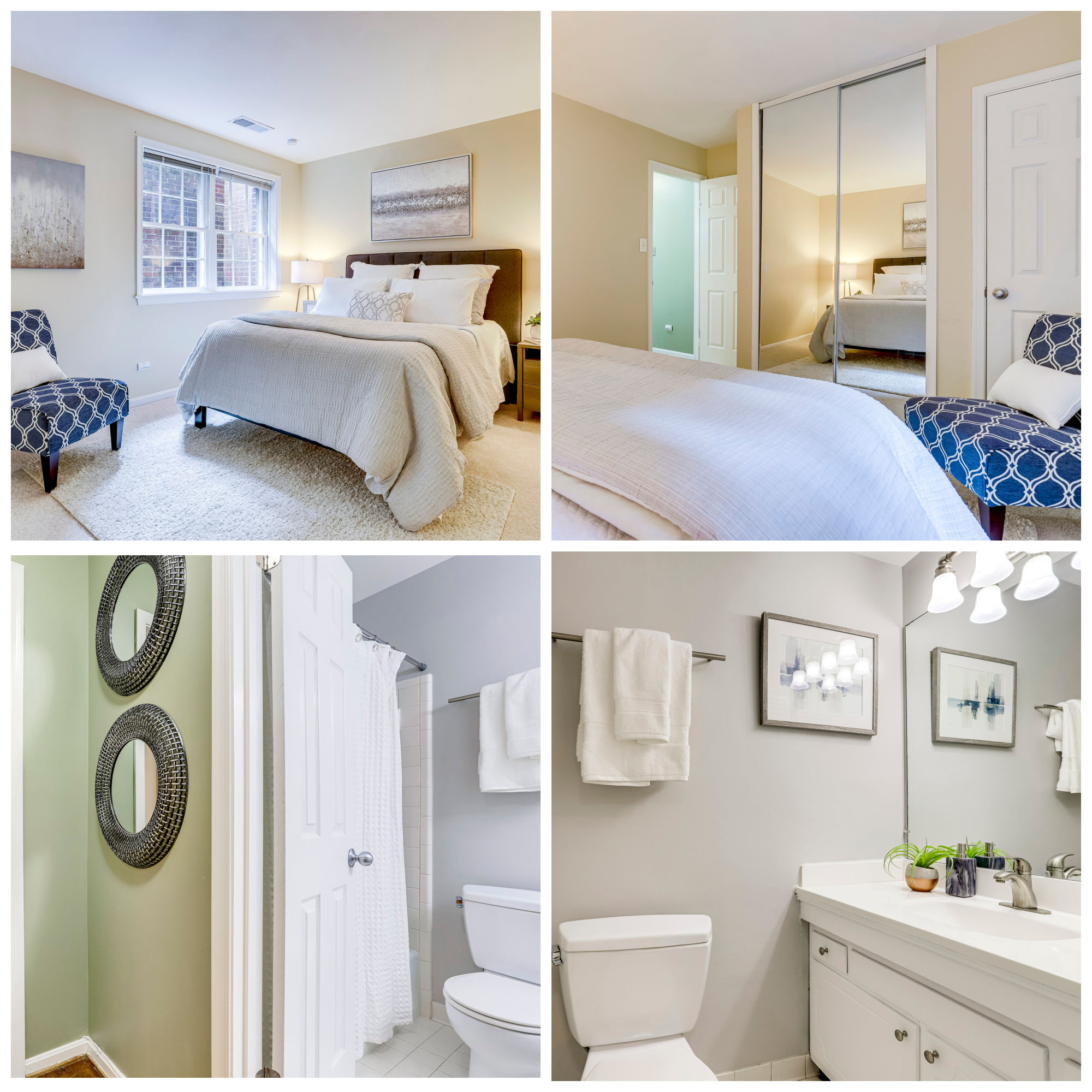 1947 N Calvert St #1, Arlington- Second Bedroom and Bathroom