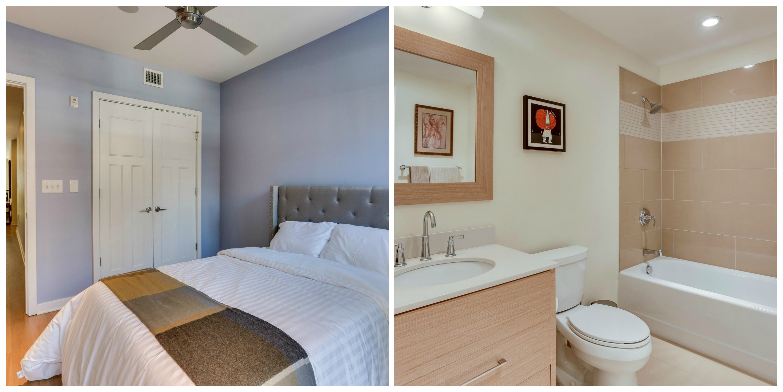 1700 Clarendon #121_Rosslyn_Guest Room and Bath