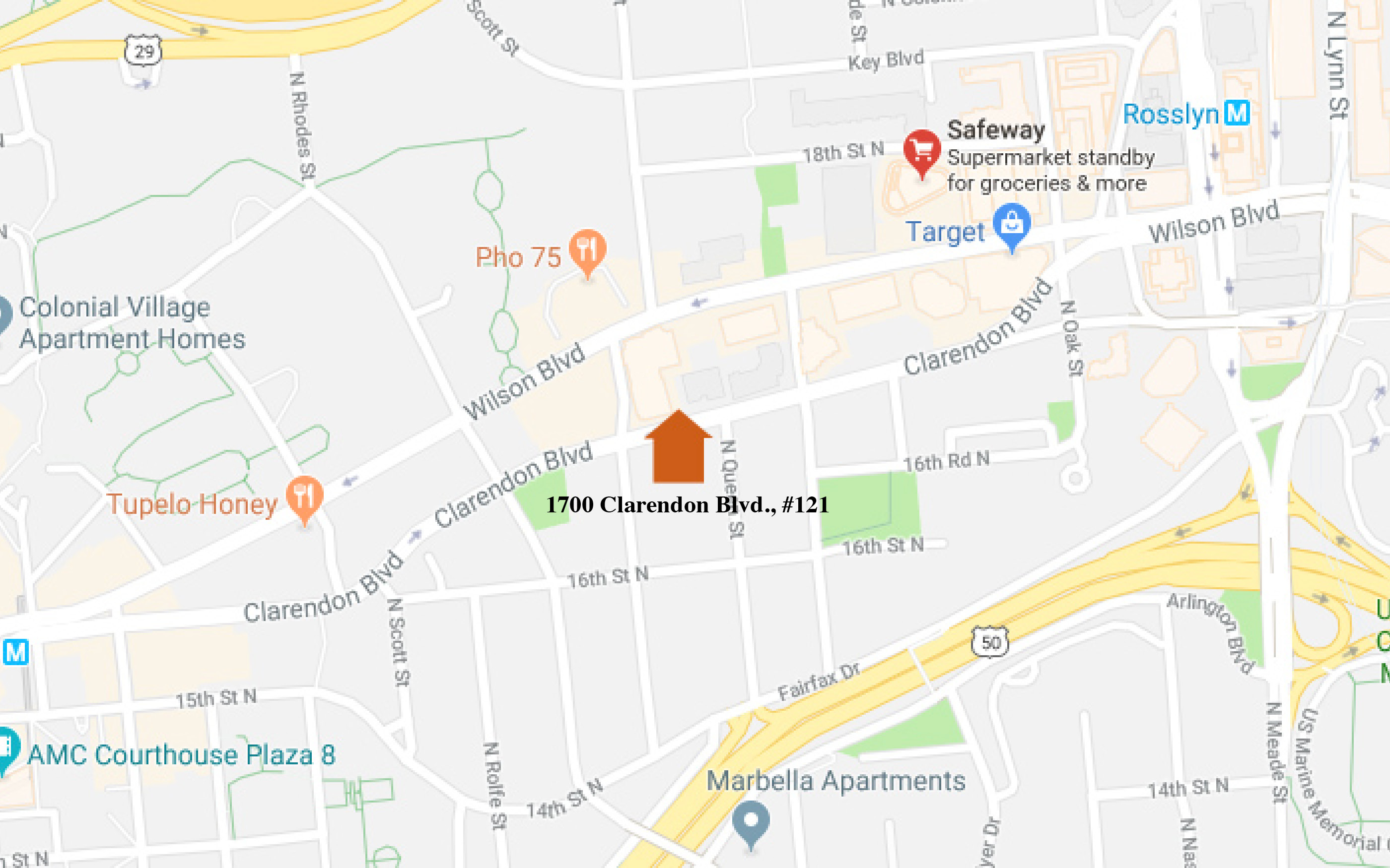 1700 Clarendon #121_ Nearby Attractions