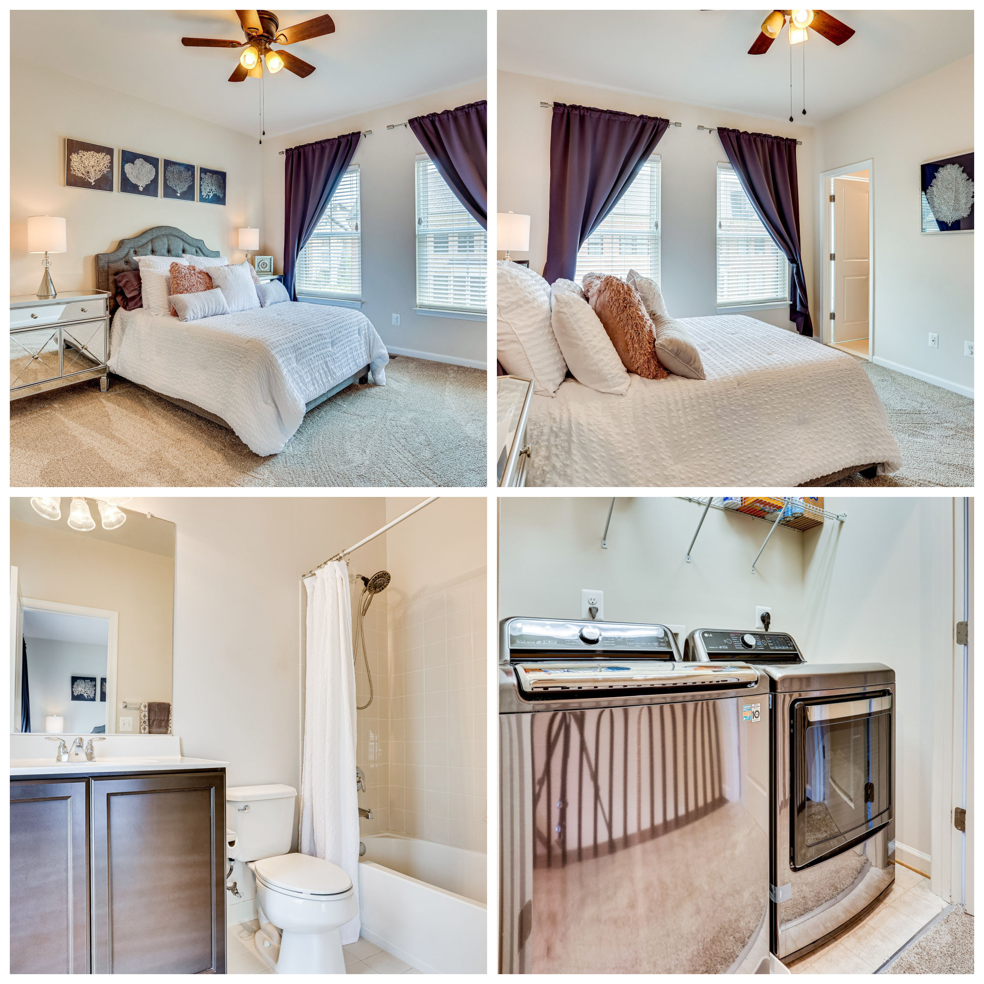 20401 Codman Dr, Ashburn- Additional Bedroom Suite and Laundry Area