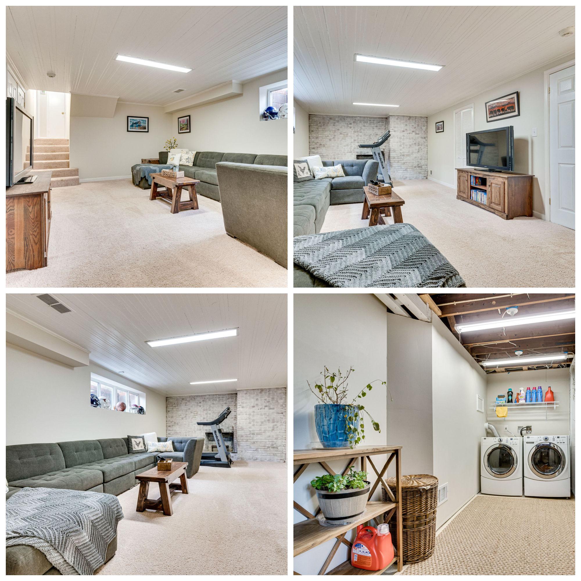 6203 Colmac Dr, Falls Church- Rec room and Laundry