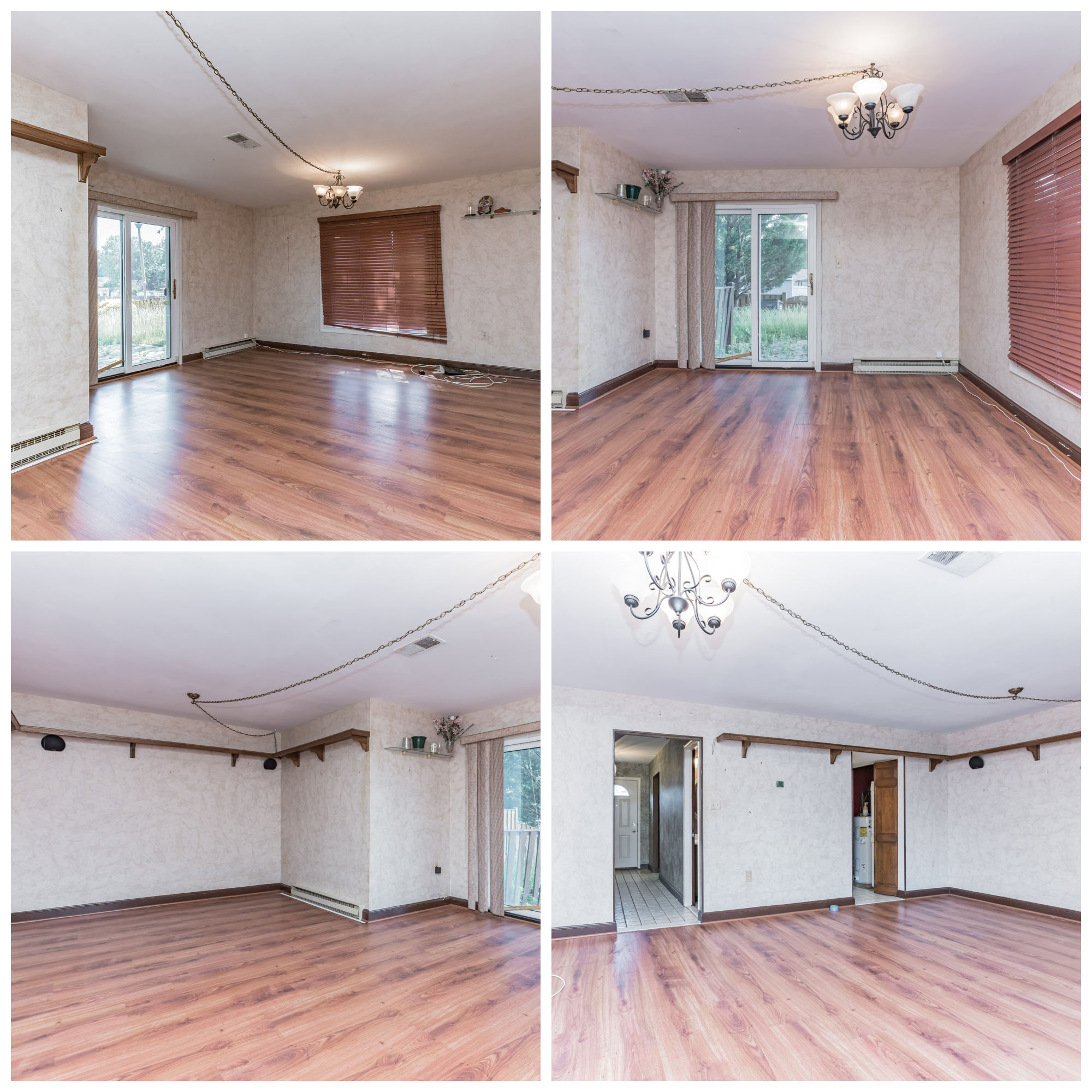 736 Colonial Ave, Sterling- Living and Dining Room