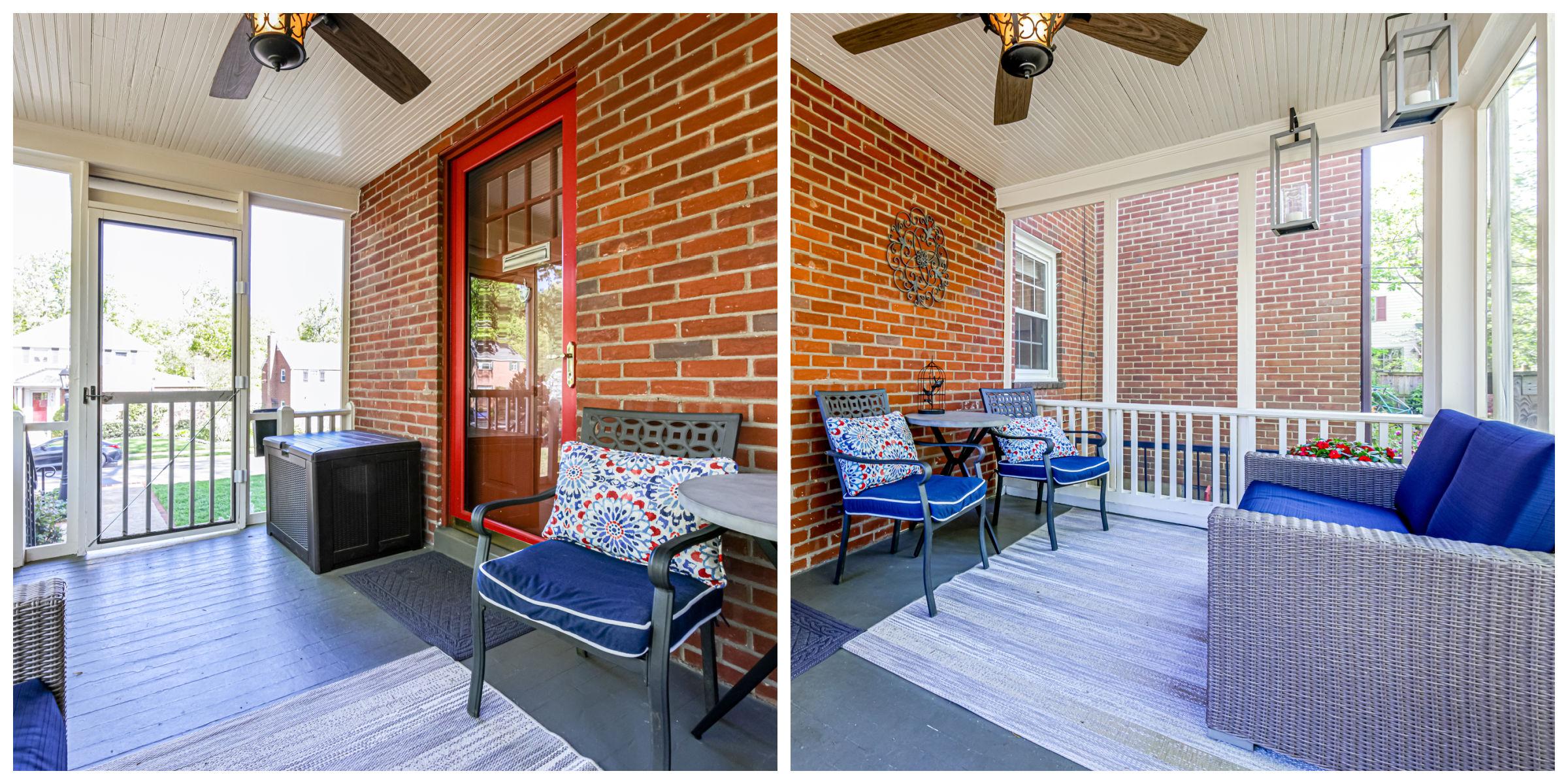 167 N Columbus St, Arlington- Front Porch