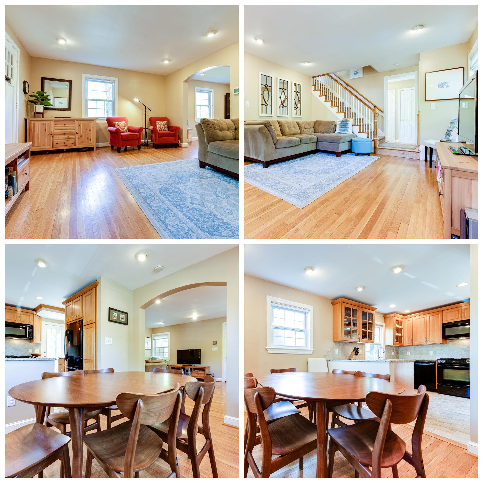 167 N Columbus St, Arlington- Living and Dining Room
