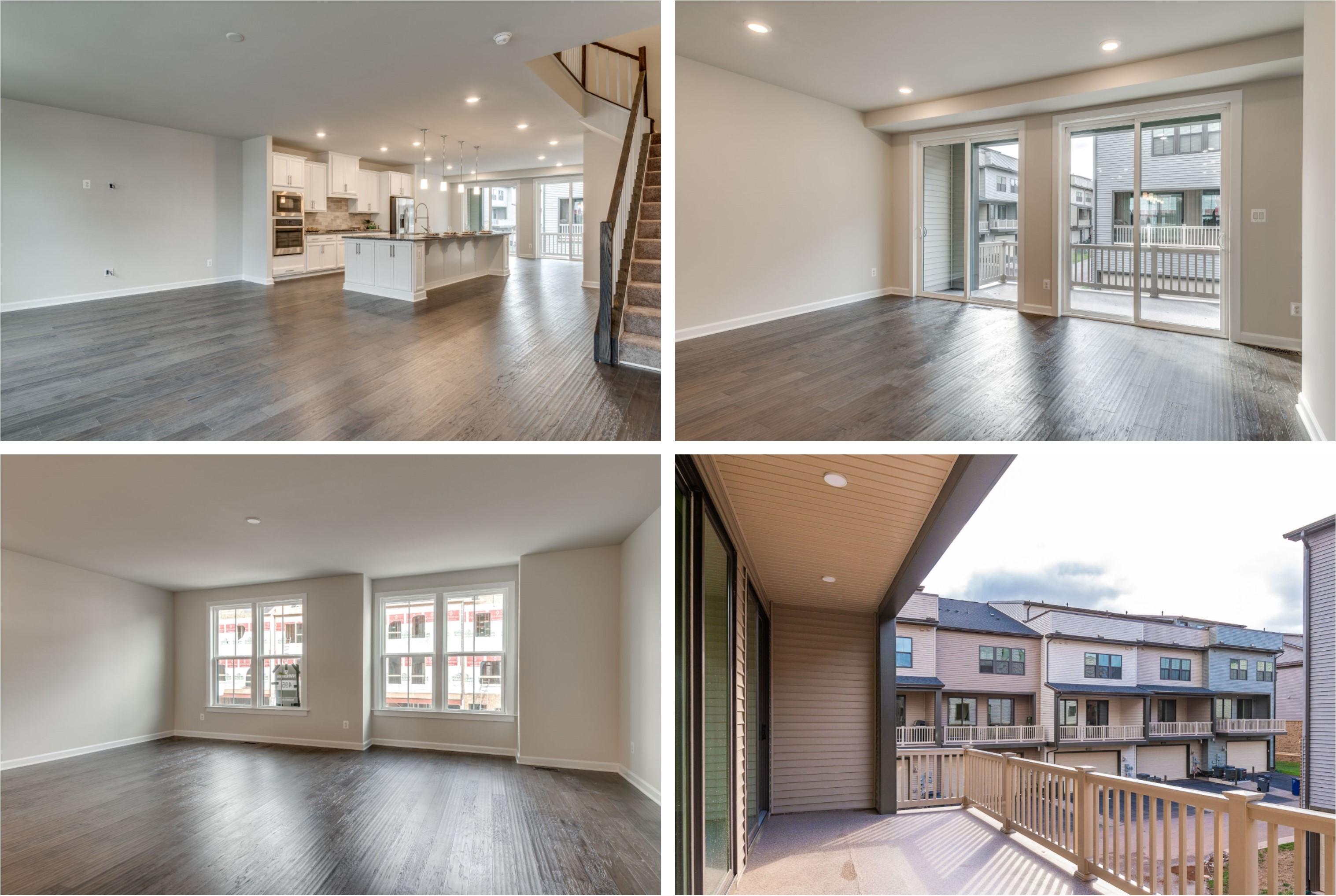22299 Cornerstone Crosing Ashburn- Living, Dining, and Balcony