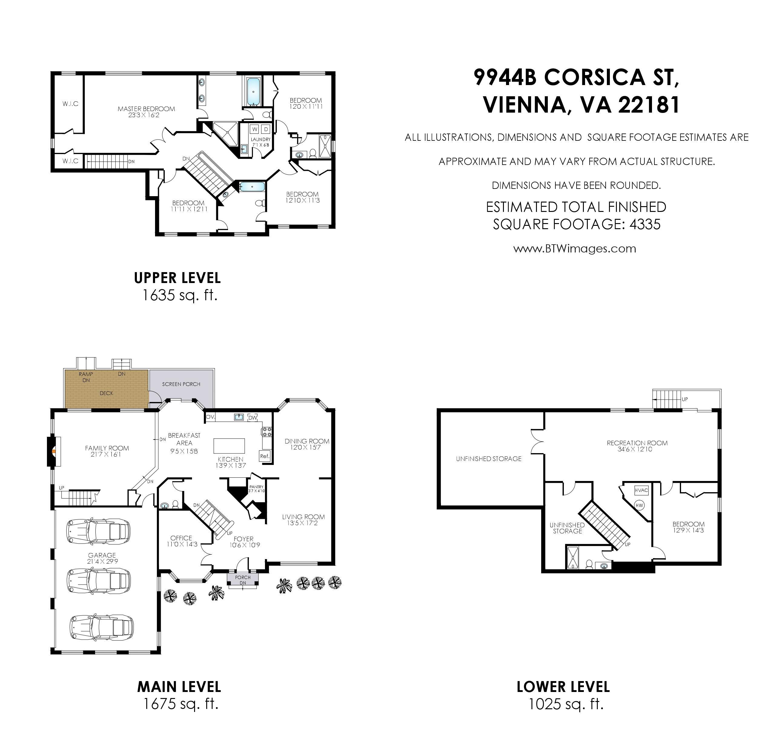 9944 B Corsica St Vienna_Floor Plan