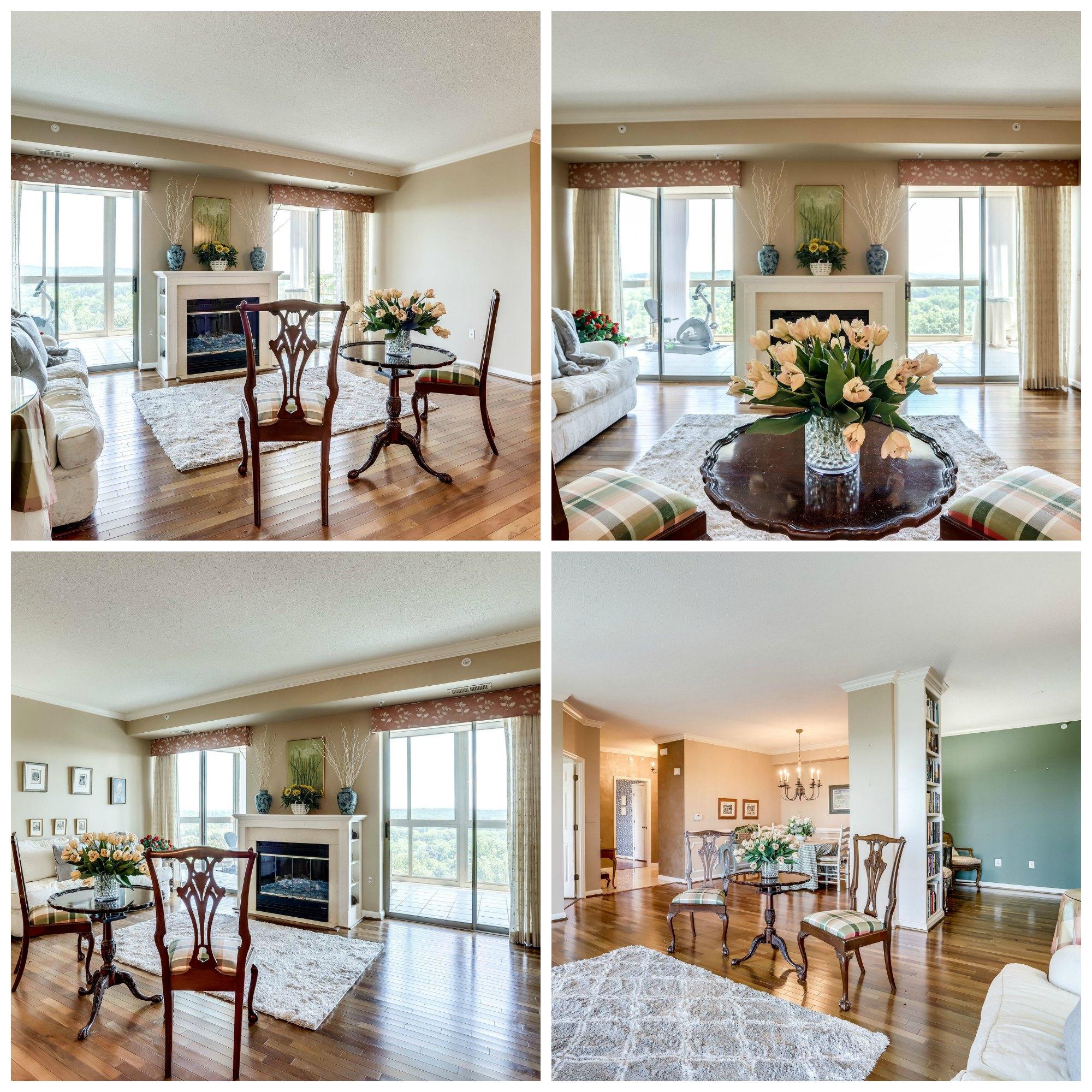 19355 Cypress Ridge Ter #912 - Lansdowne Woods- Living Room