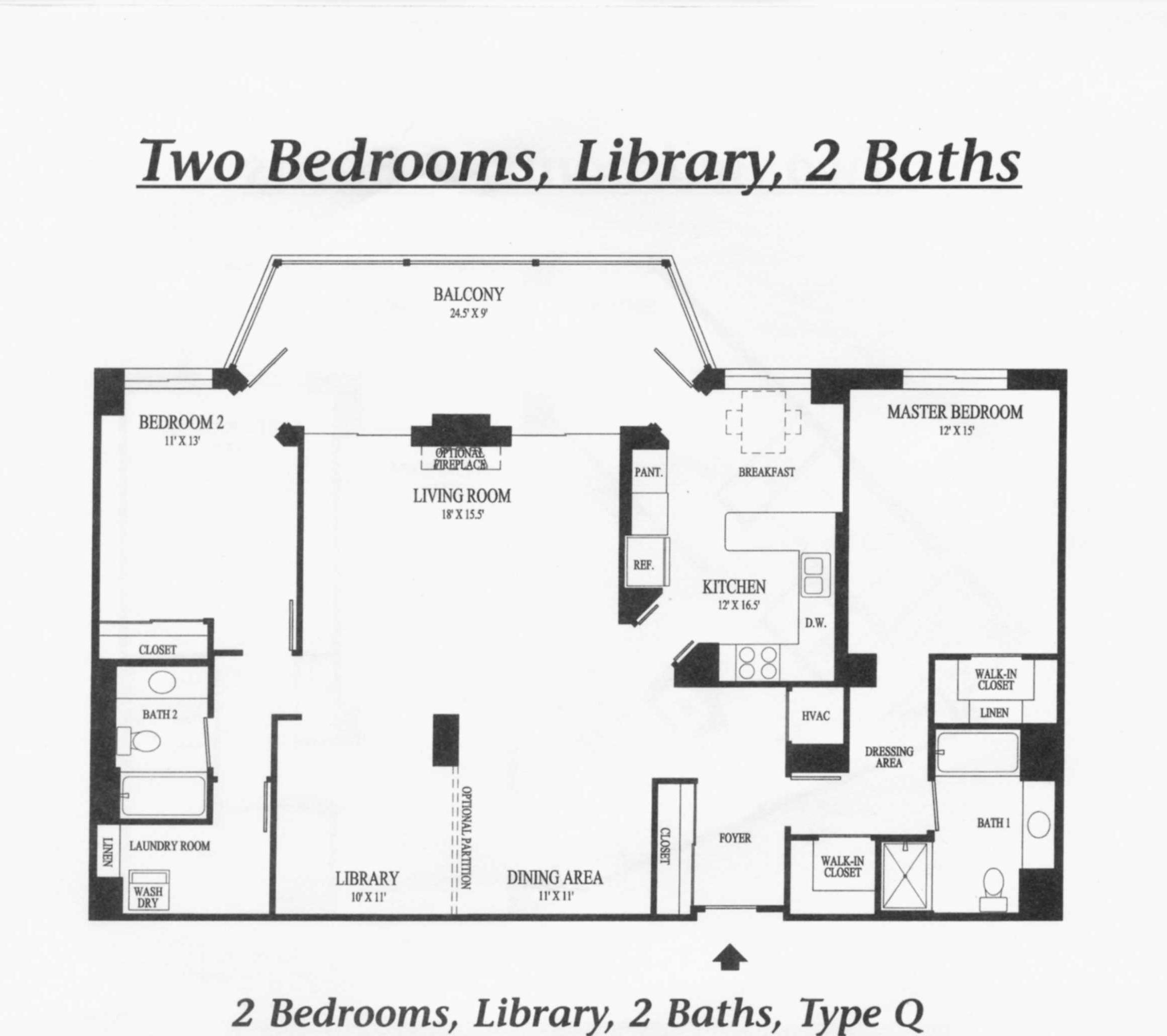 19355 Cypress Ridge Ter #912 - Lansdowne Woods- Floorplan