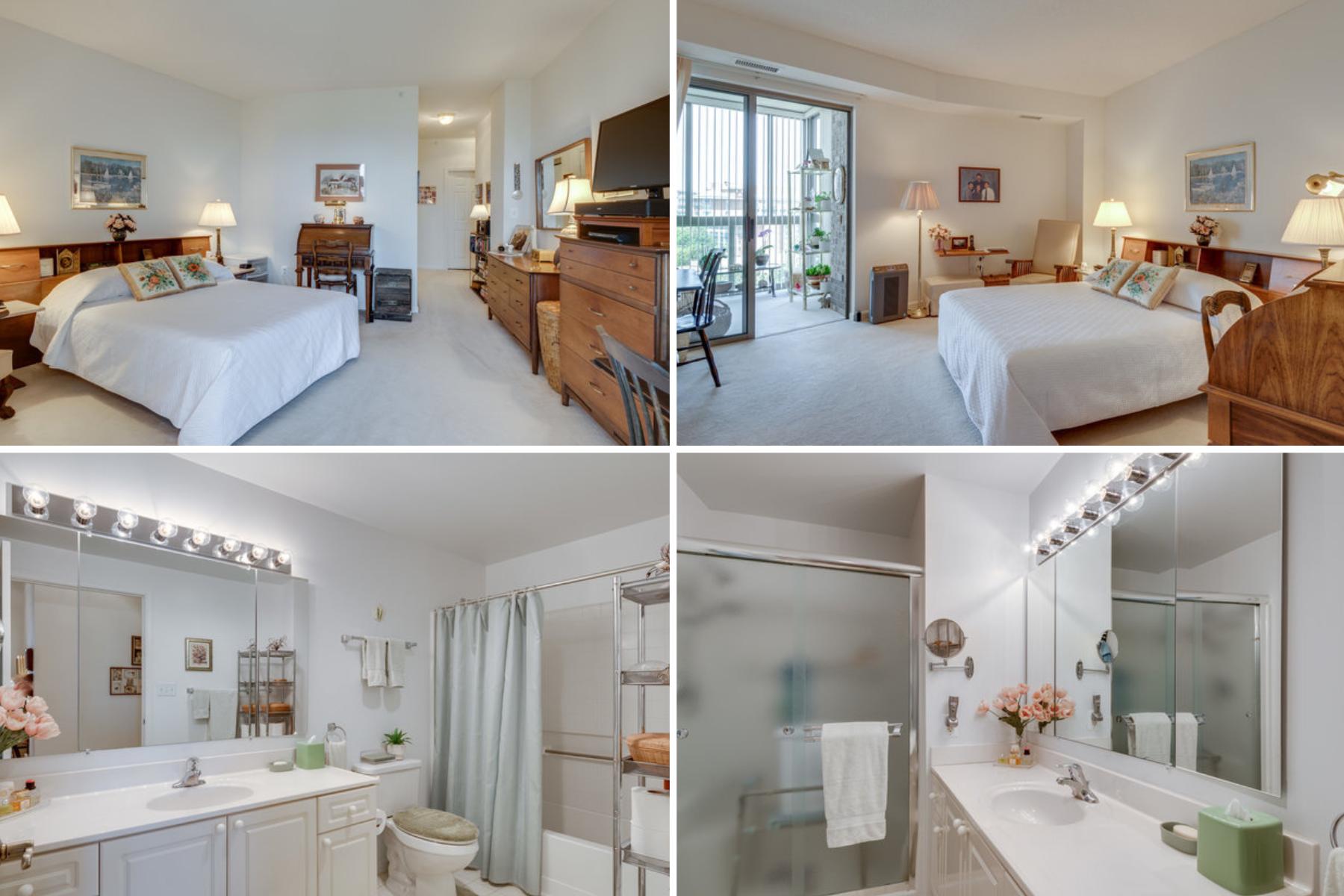 19365 Cypress Ridge Ter #1021, Leesburg- Master Bedroom and Bath