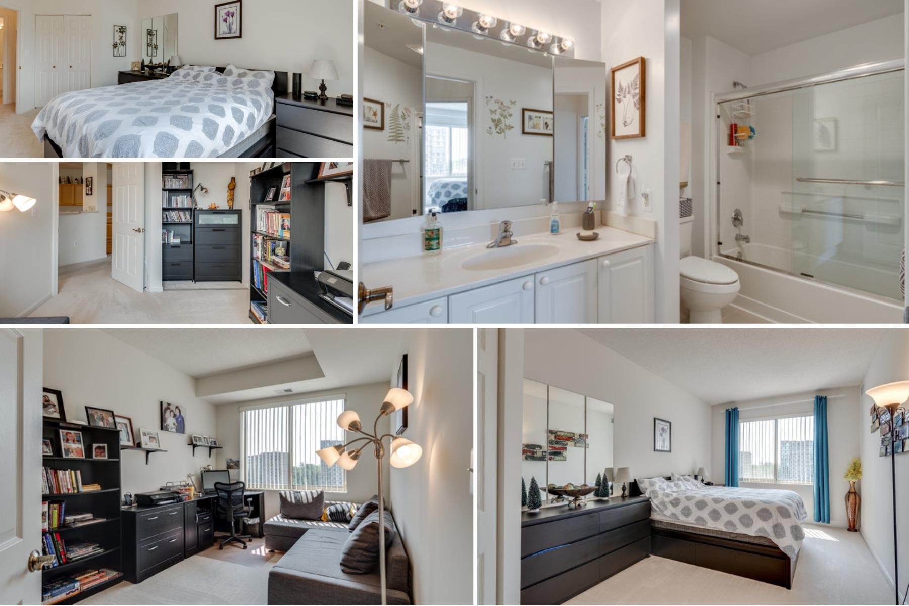 Bedrooms 2 and 3 19365 Cypress Ridge Terrace #415