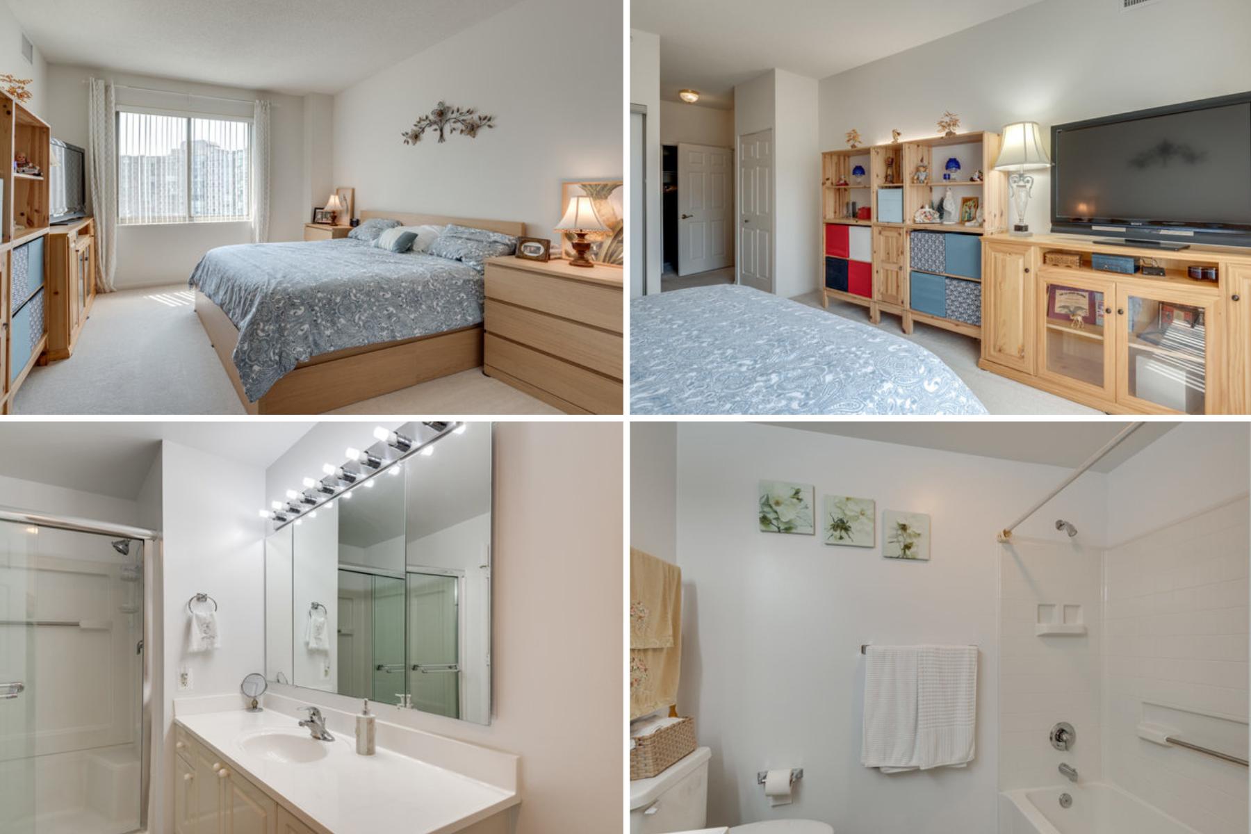 Master Bedroom and Bath- 19365 Cypress Ridge Terrace #415