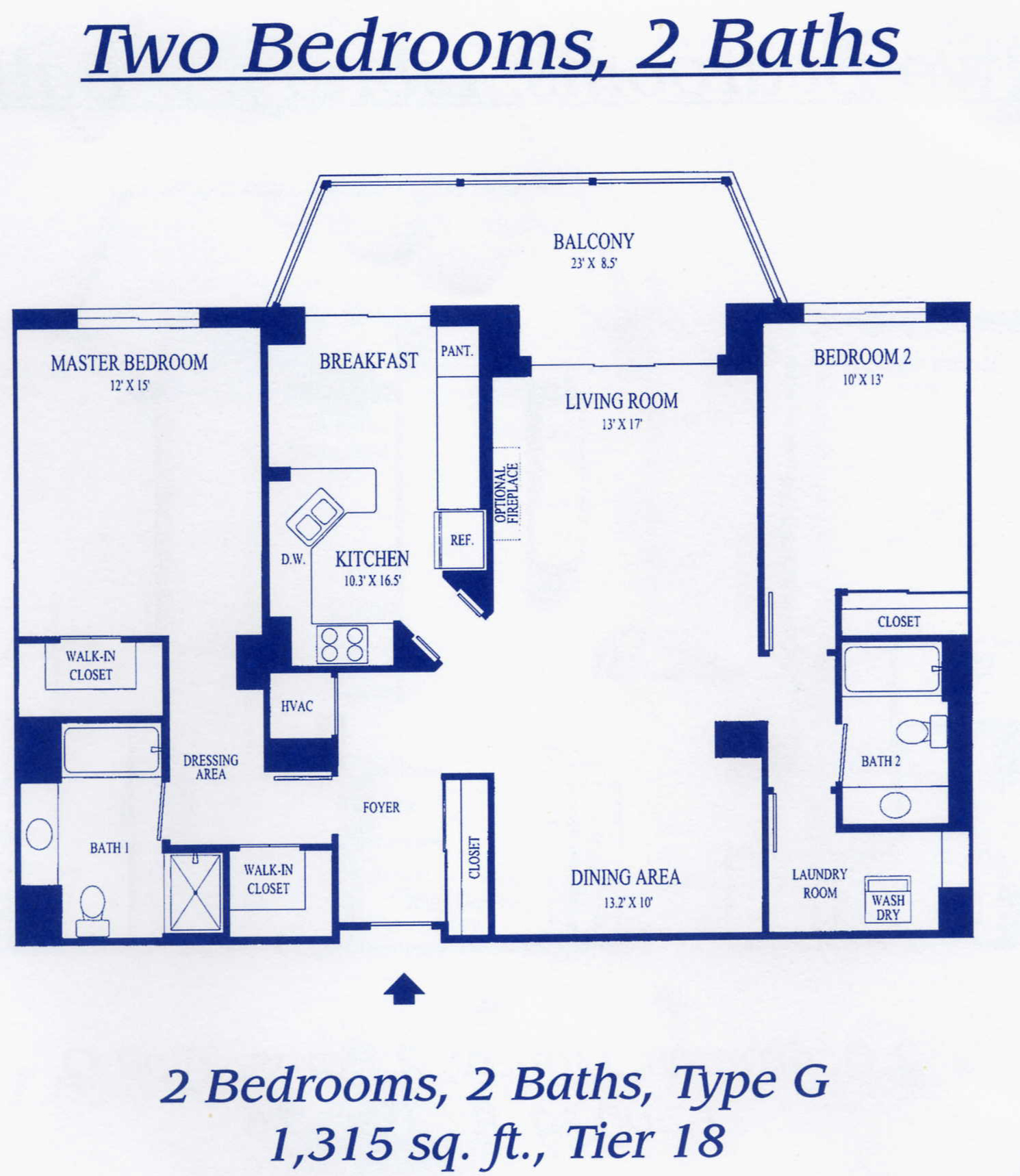 19365 Cypress Ridge Ter #418- Lansdowne Woods- Floor plan