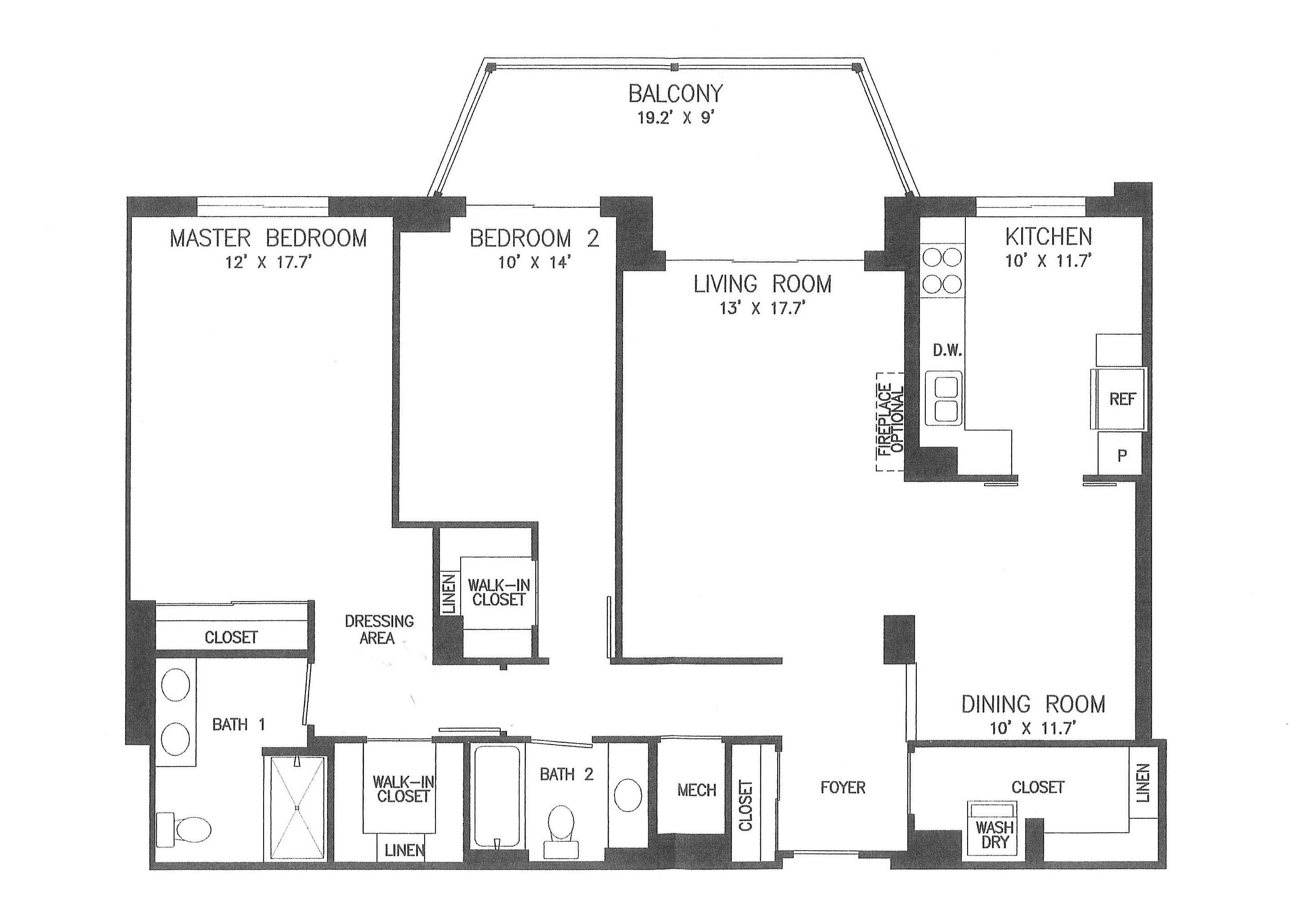 19375 Cypress Ridge Ter #1116, Lansdowne Woods- Floorplan