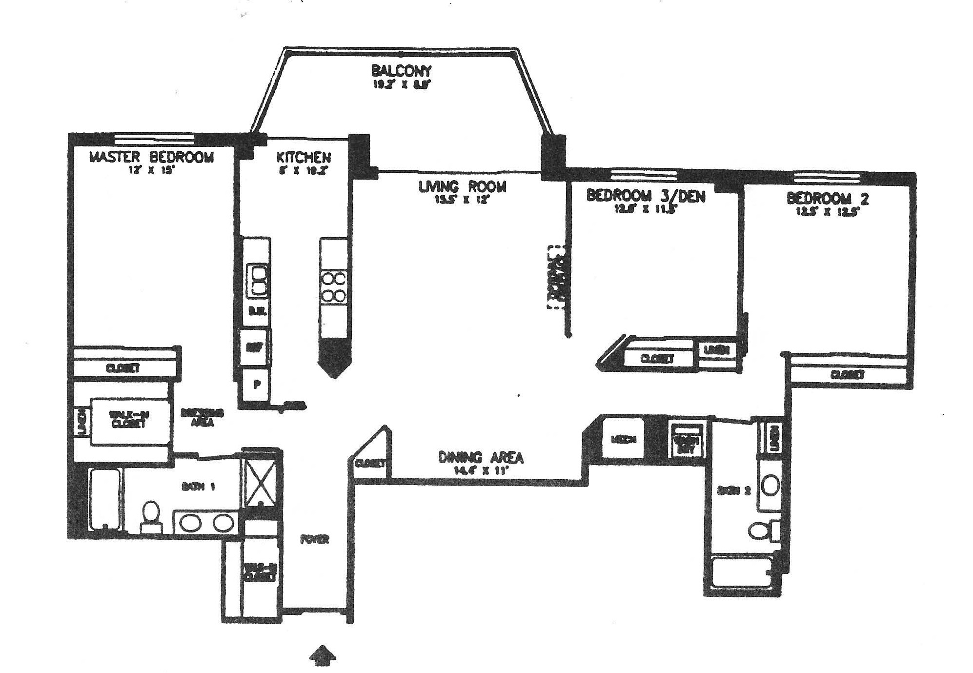 19375 Cypress Ridge #801_Floor Plan