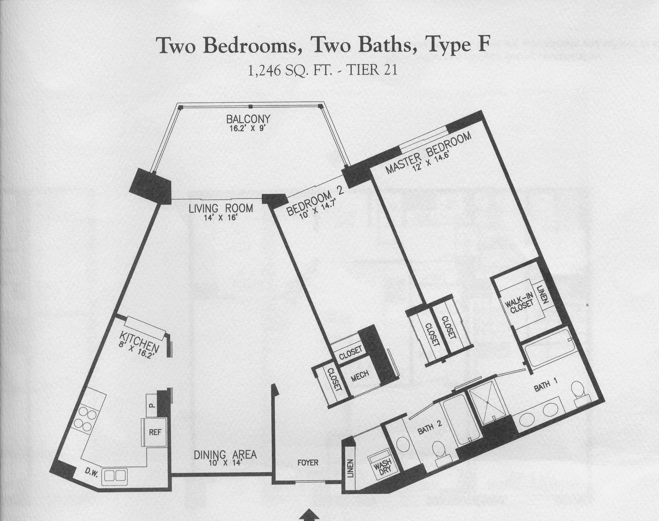 19385 Cypress Ridge Ter #721 - Lansdowne Woods - Floor Plan