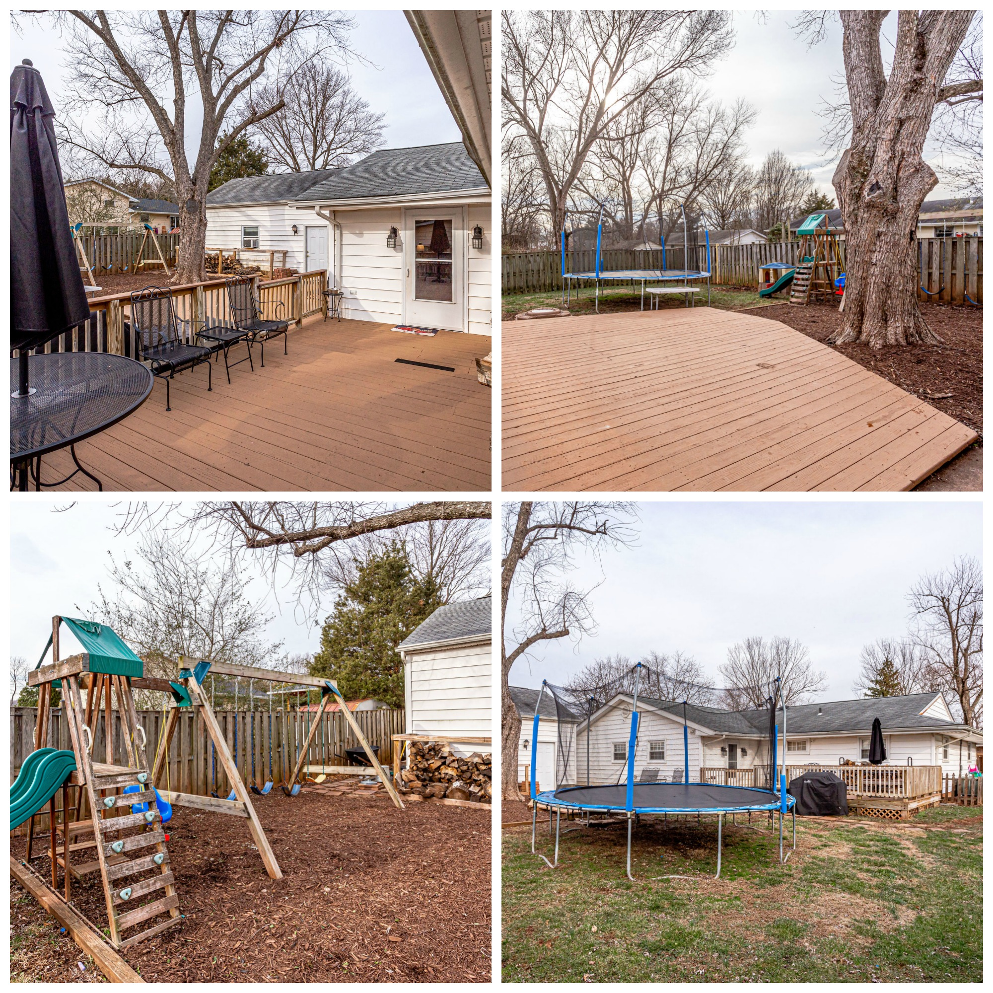 1501 Dinwiddie St  - Sterling- Backyard