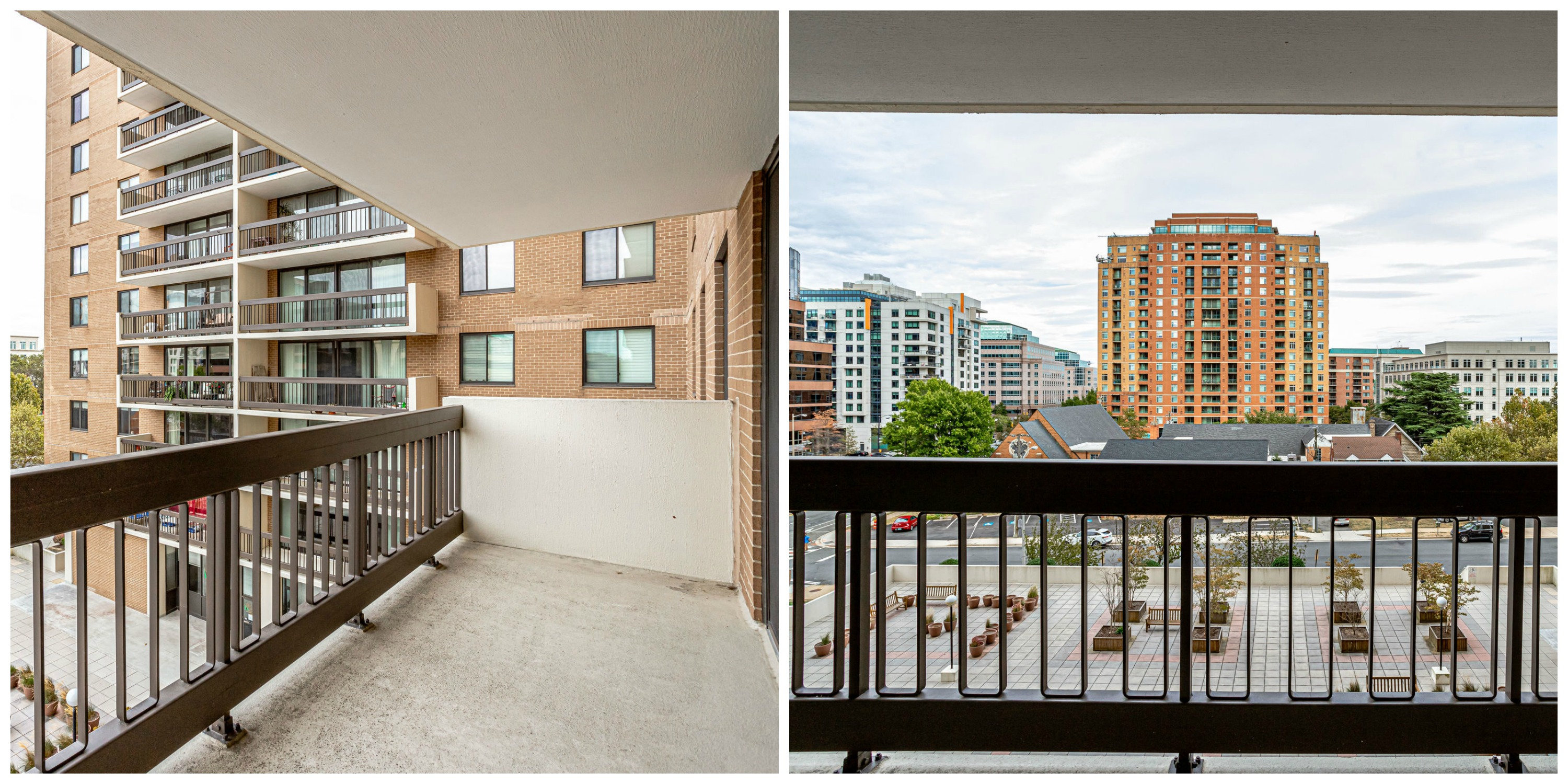 3800 Fairfax Dr #302 Arlington- Balcony