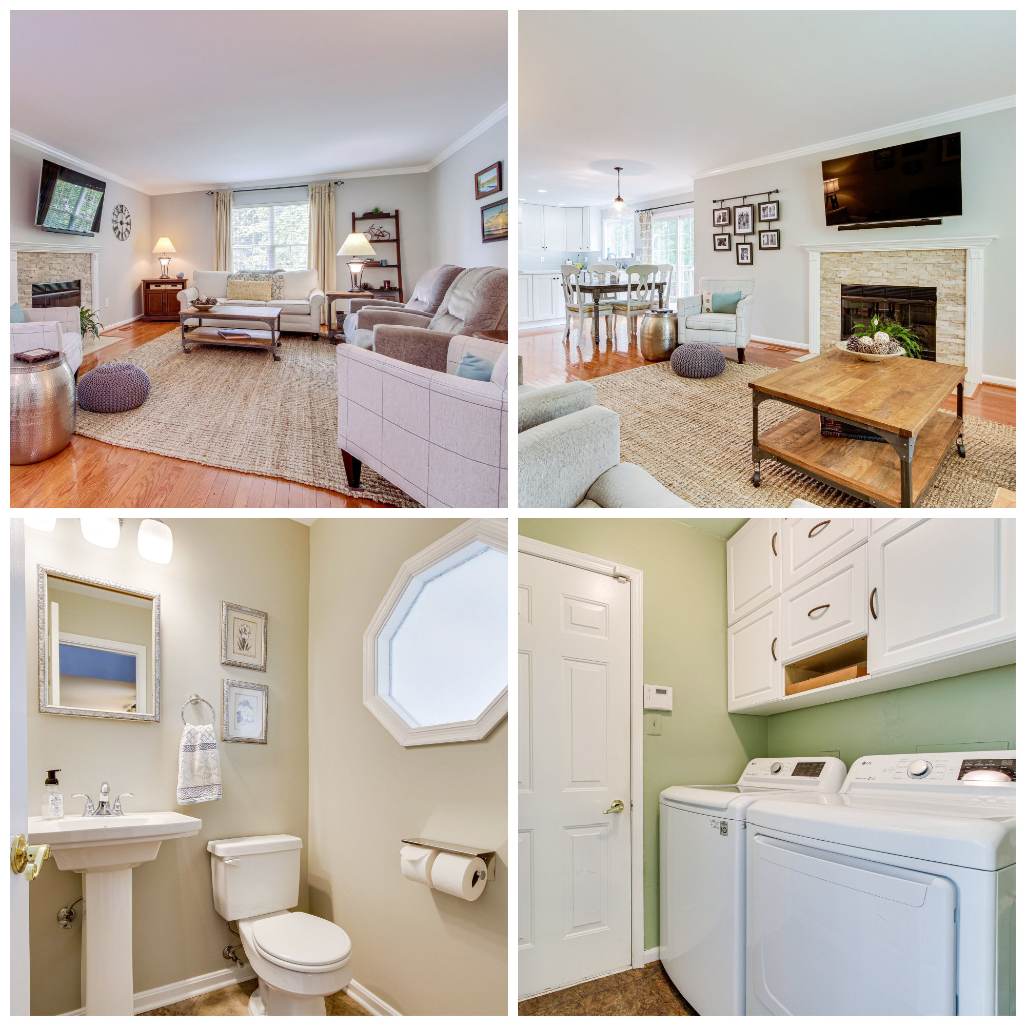 21002 Fernridge Way, Ashburn- Family Room, Powder Room, Laundry Room