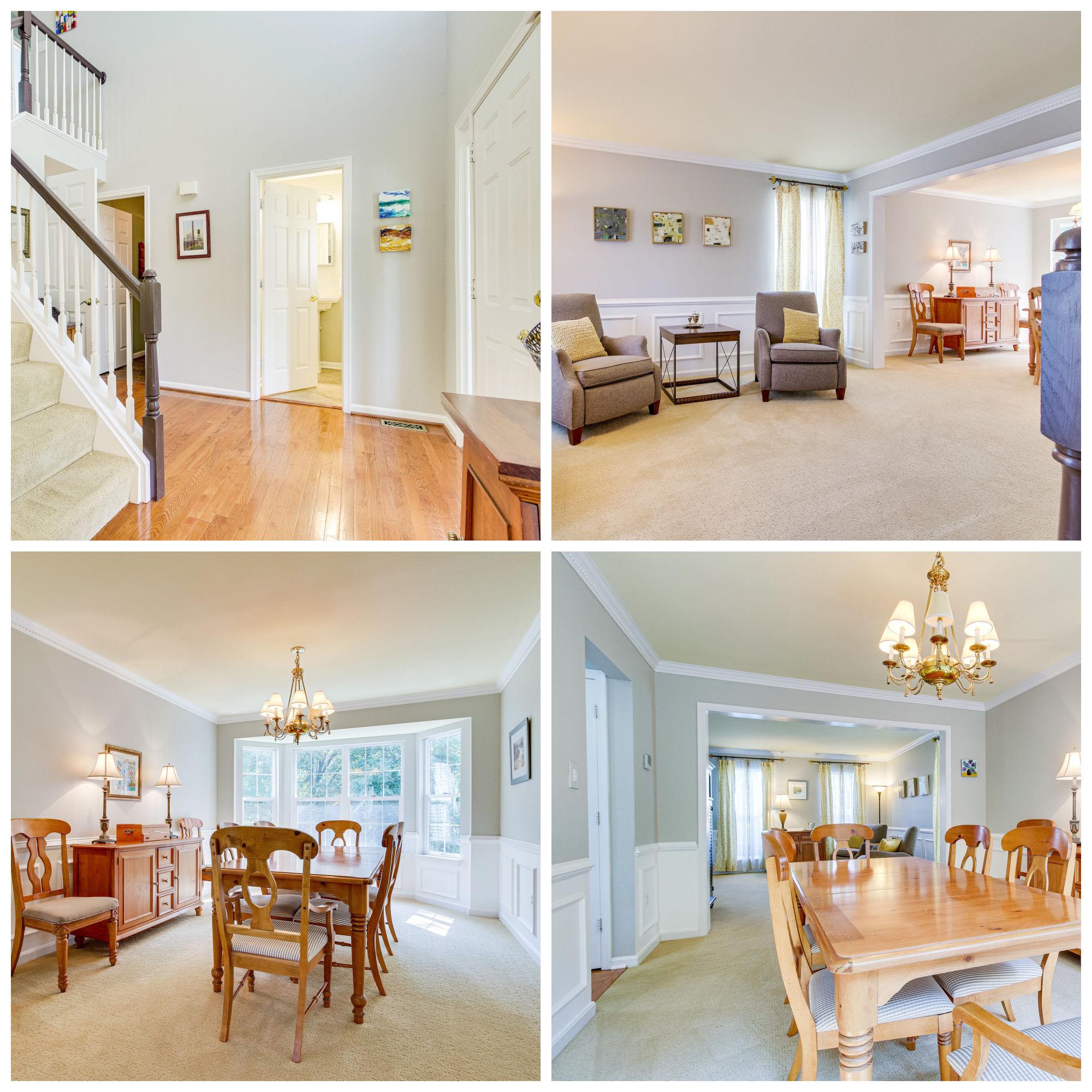 21002 Fernridge Way, Ashburn- Living and Dining Room