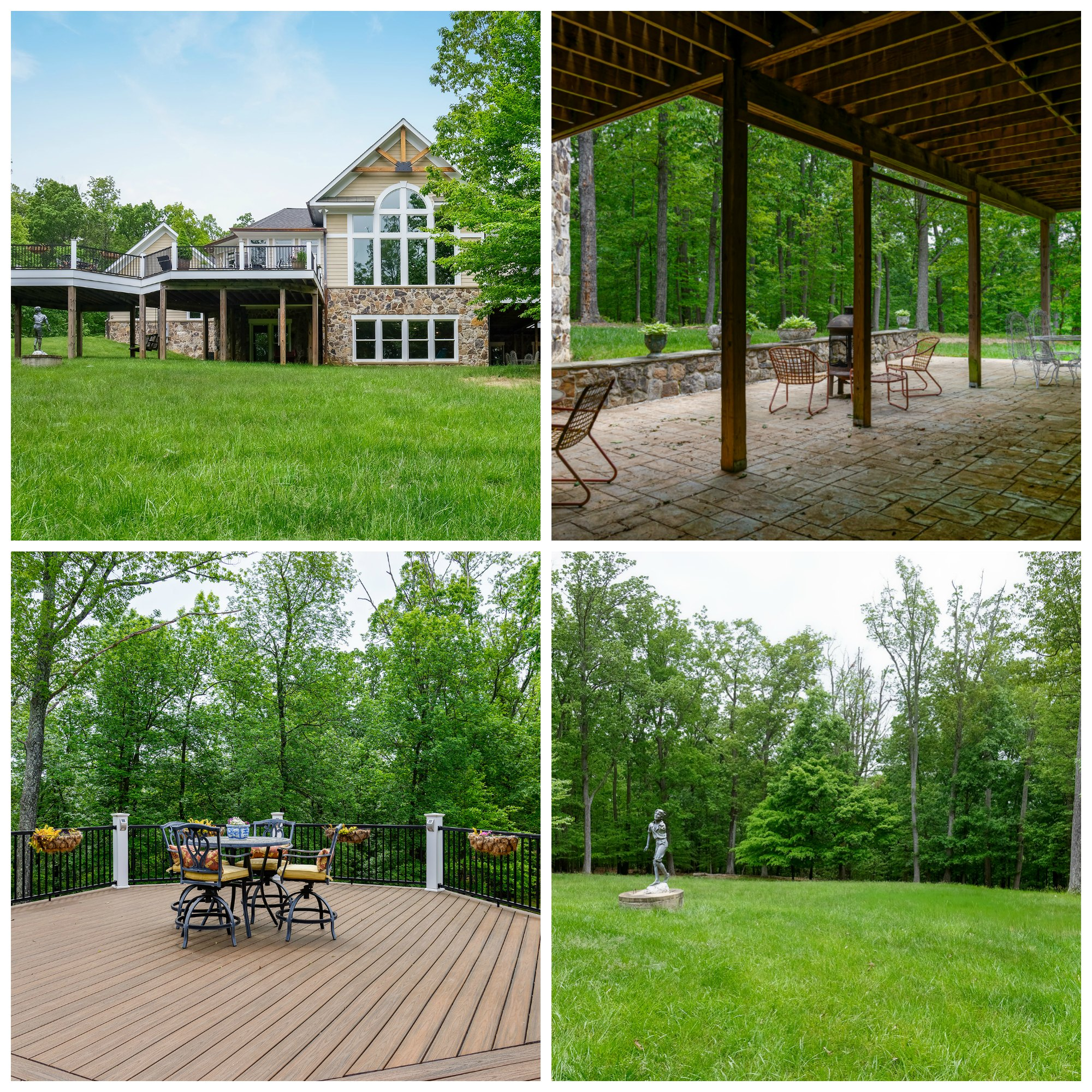41430 Fox Creek Ln, Raspberry Falls- Decks, Patio, and Yard