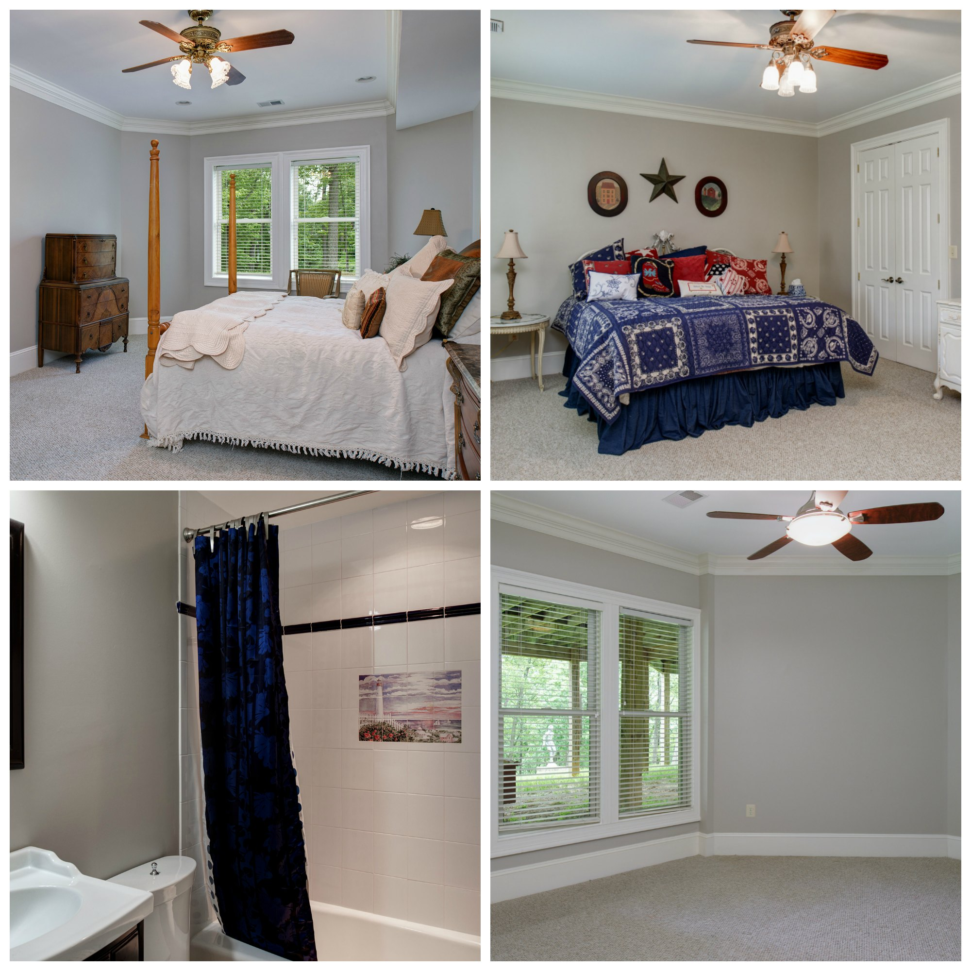 41430 Fox Creek Ln, Raspberry Falls- Lower Level Bedrooms