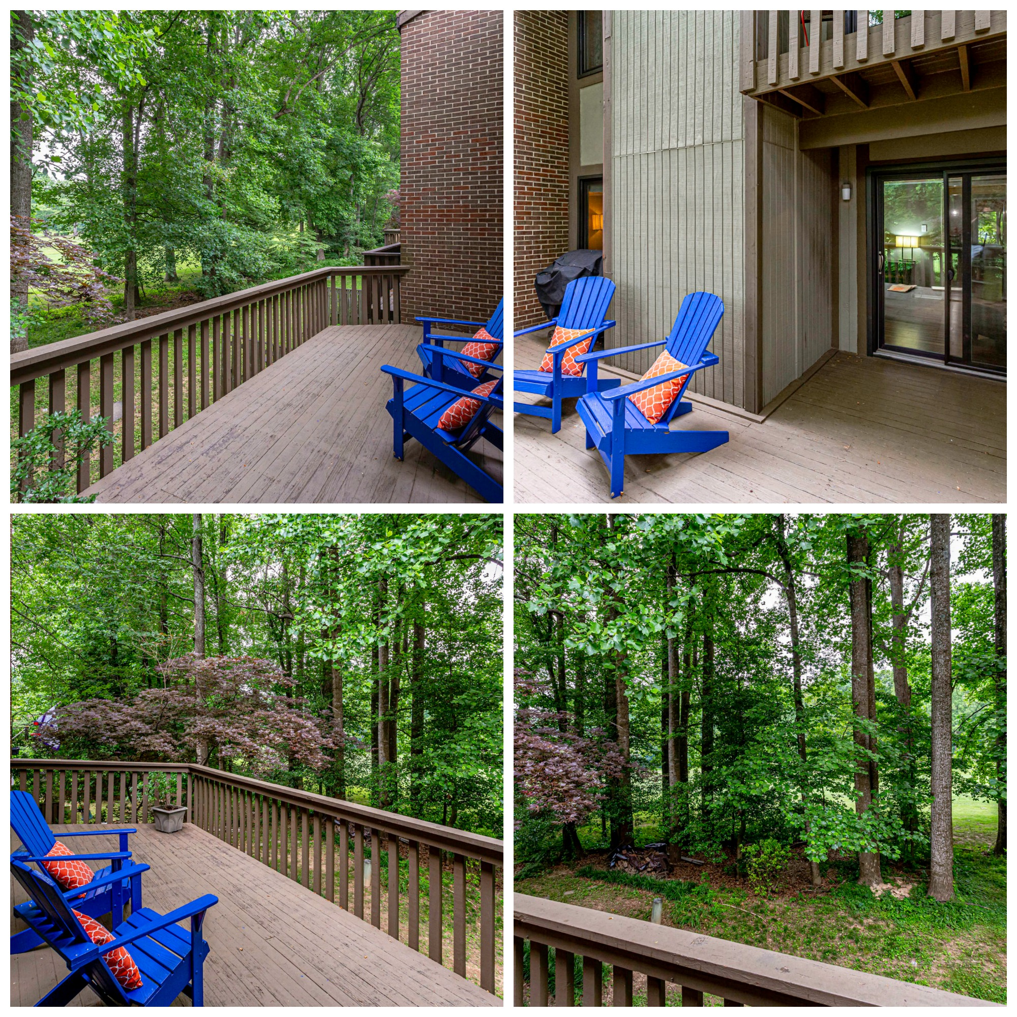 2160 Glencourse Ln, Reston- Main Level Deck