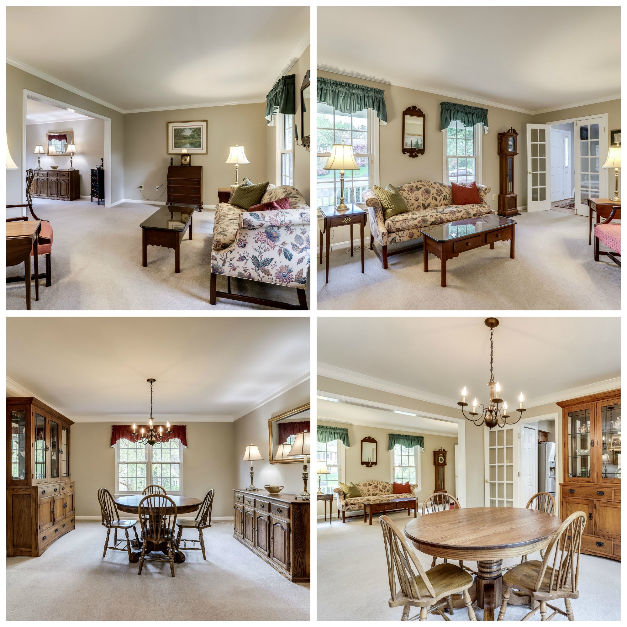 12984 Hampton Forest Ct Fairfax- Living and Dining Rooms