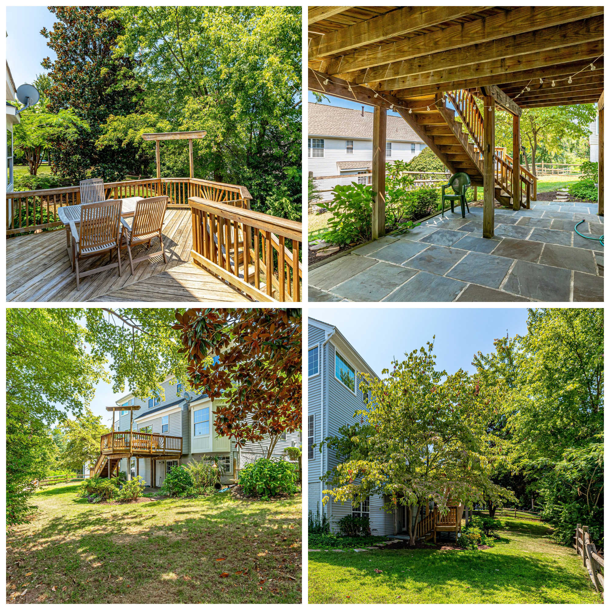 20485 Inwood Ct, Sterling- Deck, Patio, and Yard