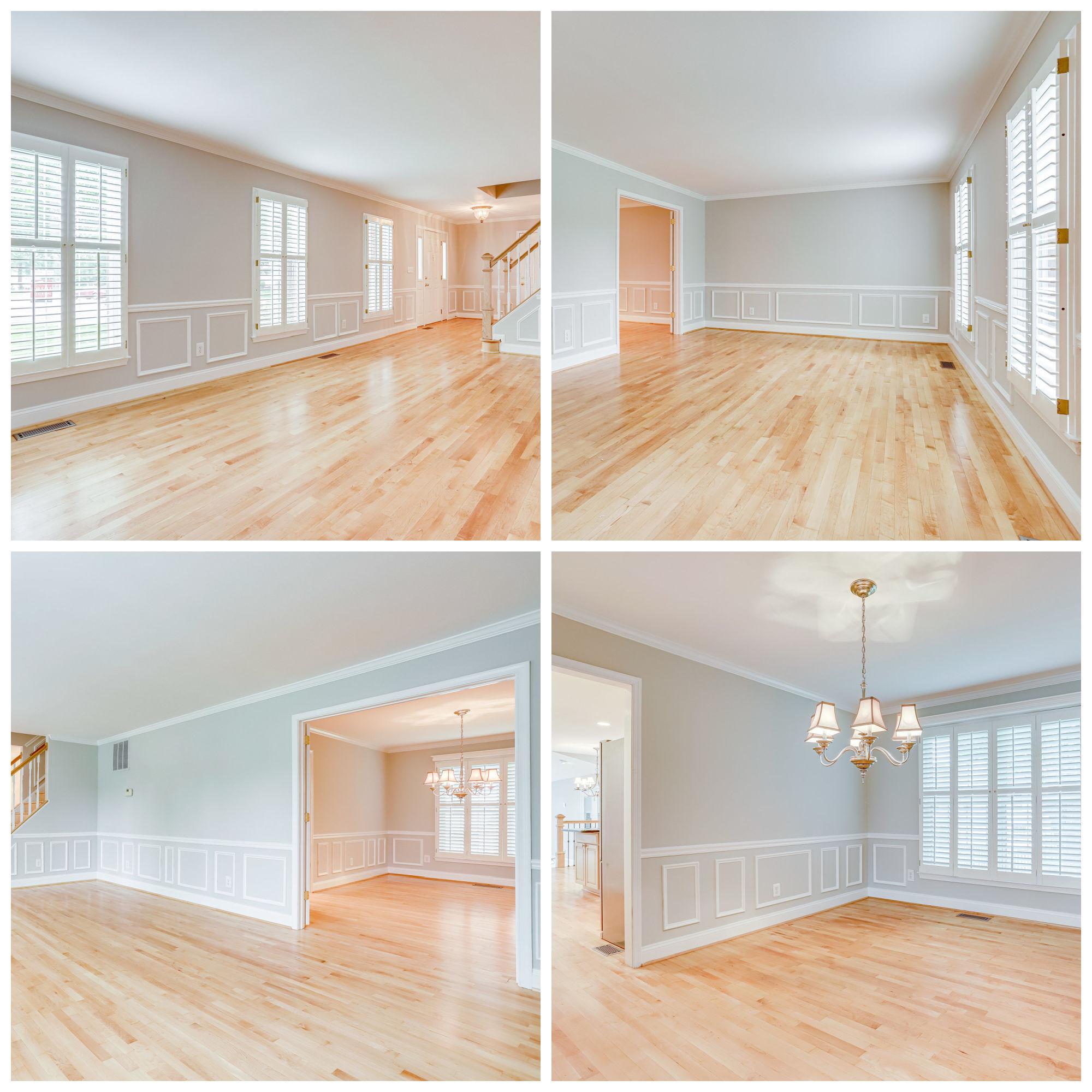 3209 Kilbrennan Ct, Herndon- Living and Dining Rooms