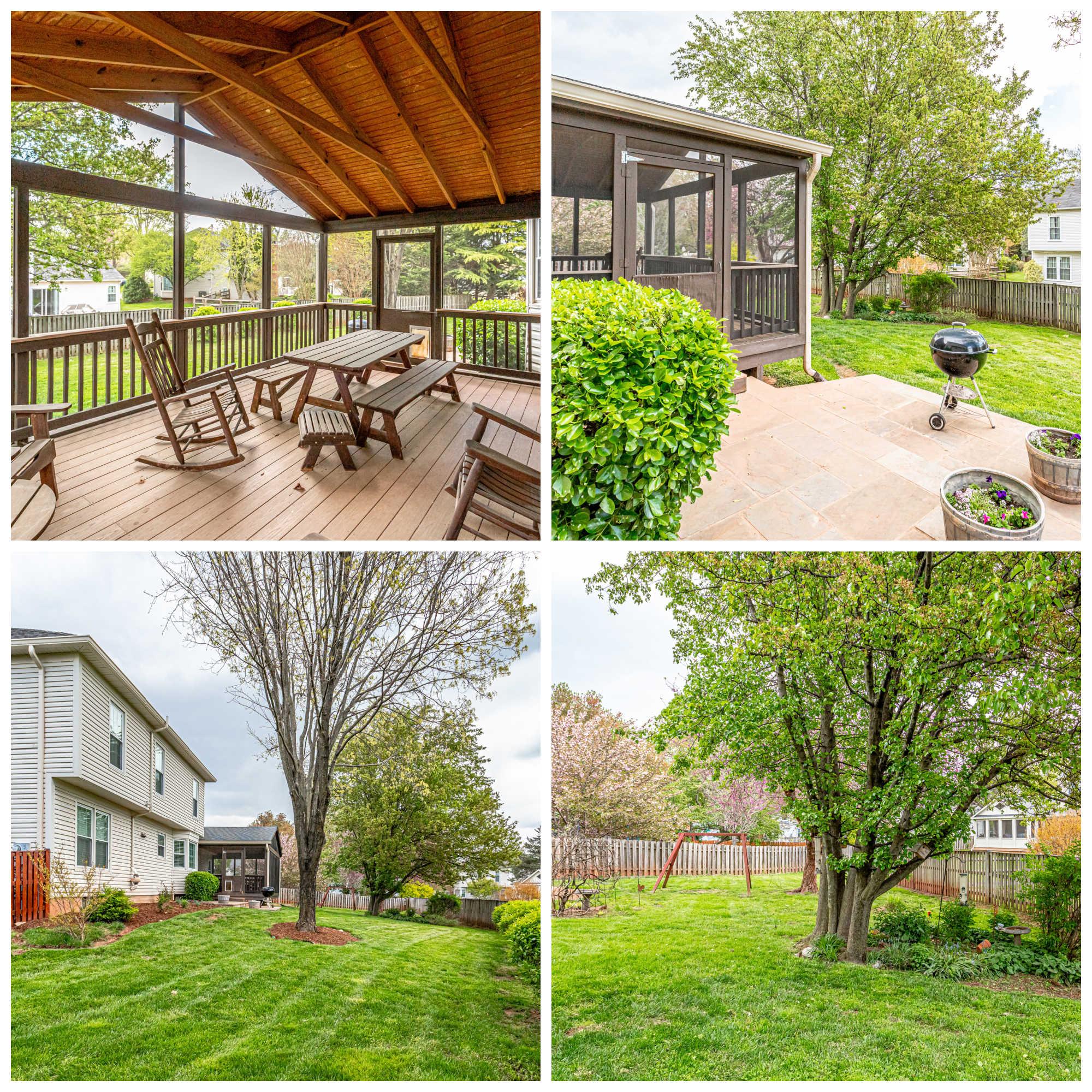 3209 Kilbrennan Ct, Oak Hill- Porch, Patio and Yard