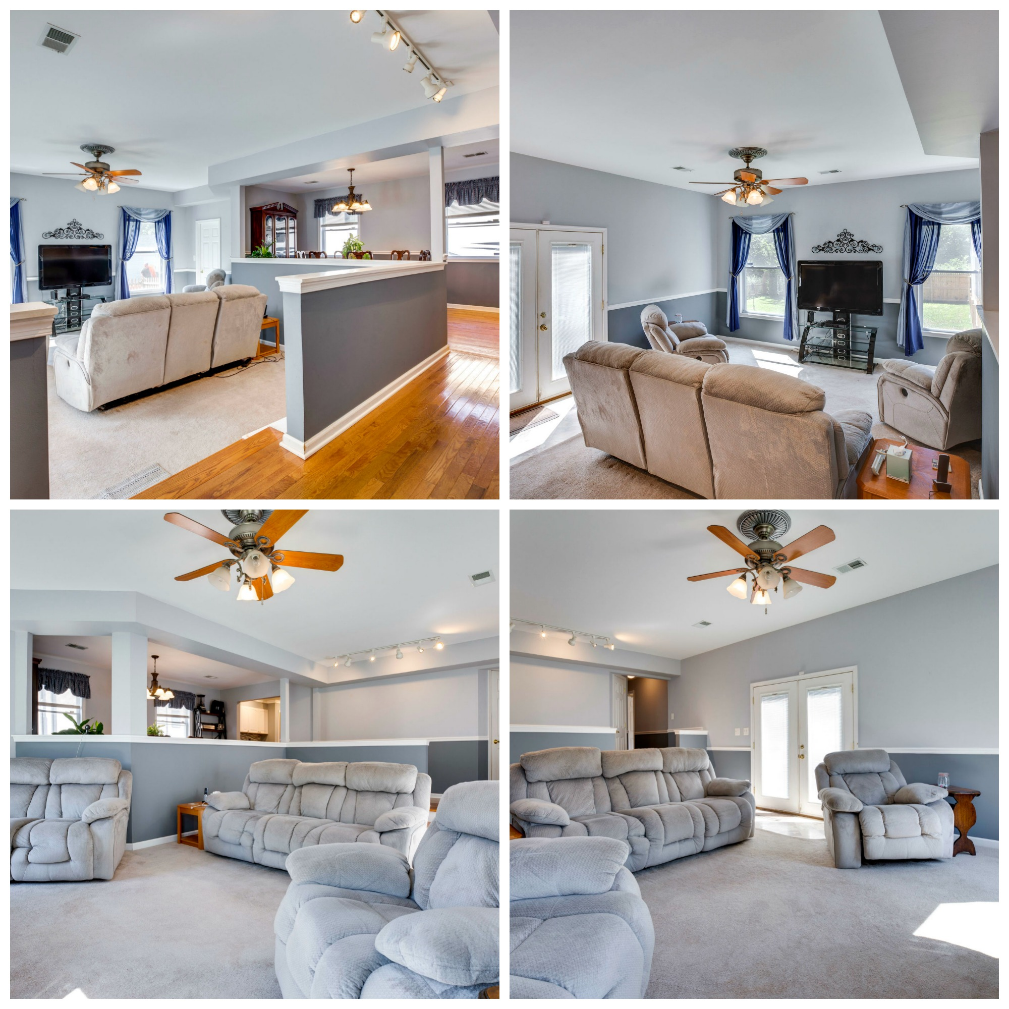 9331 King George Dr, Manassas- Family Room