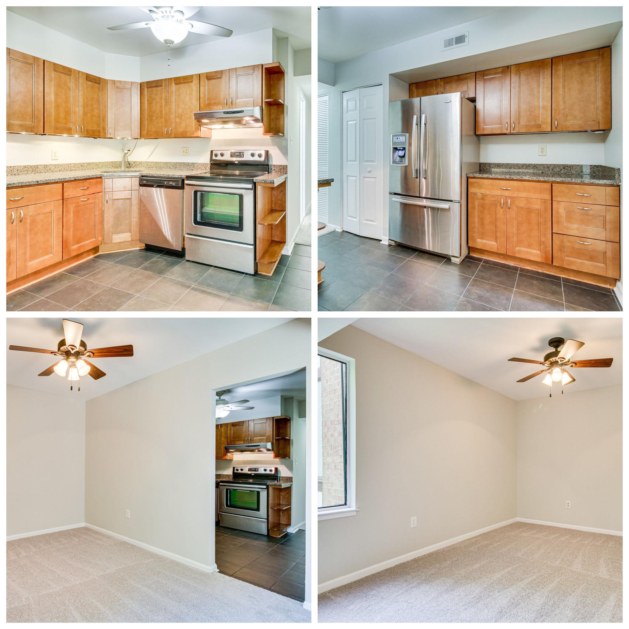 9810 Kingsbridge Dr #102, Fairfax- Kitchen and Dining Room